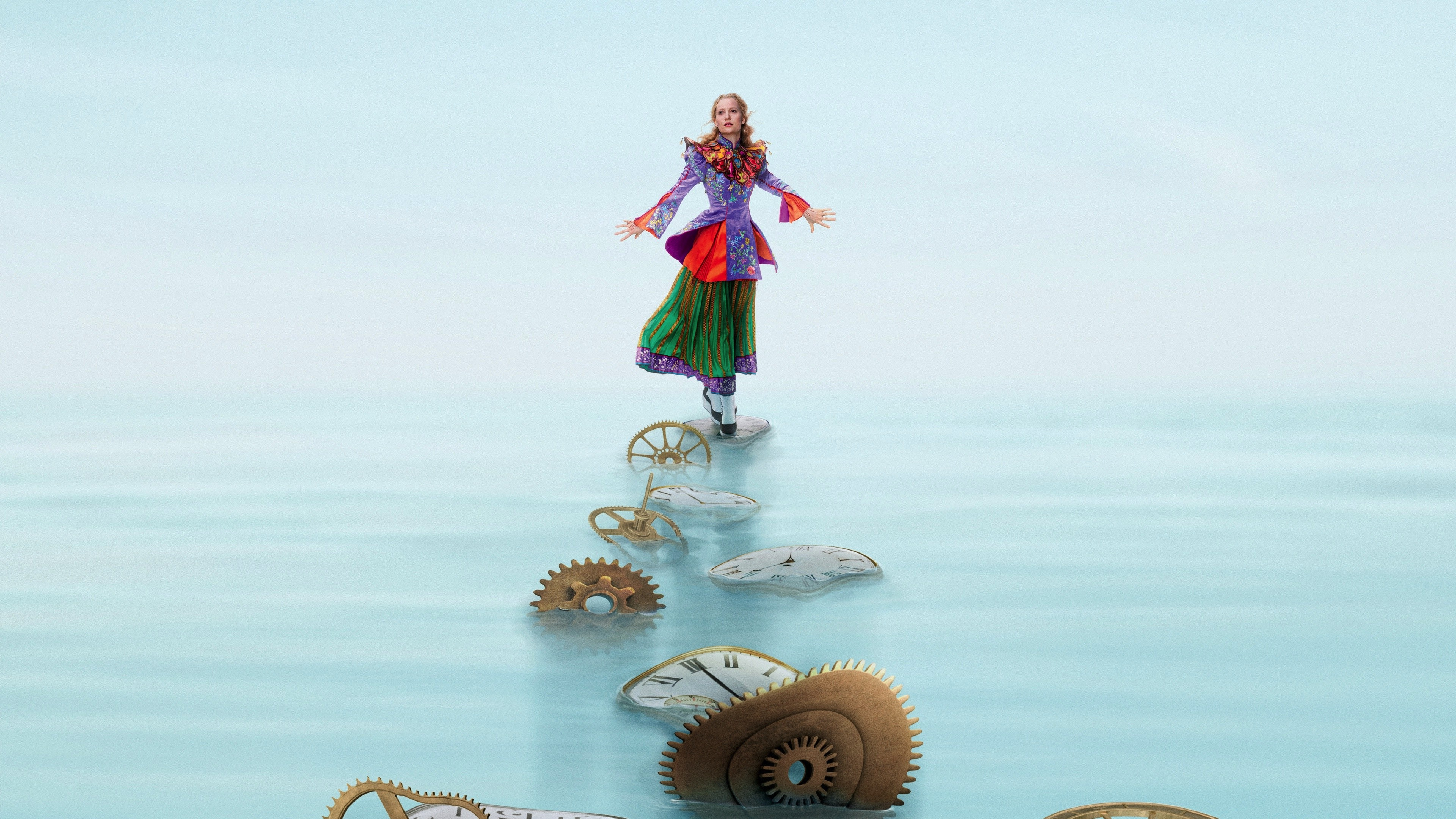 2160x3840 2016 Alice Through The Looking Glass Sony Xperia