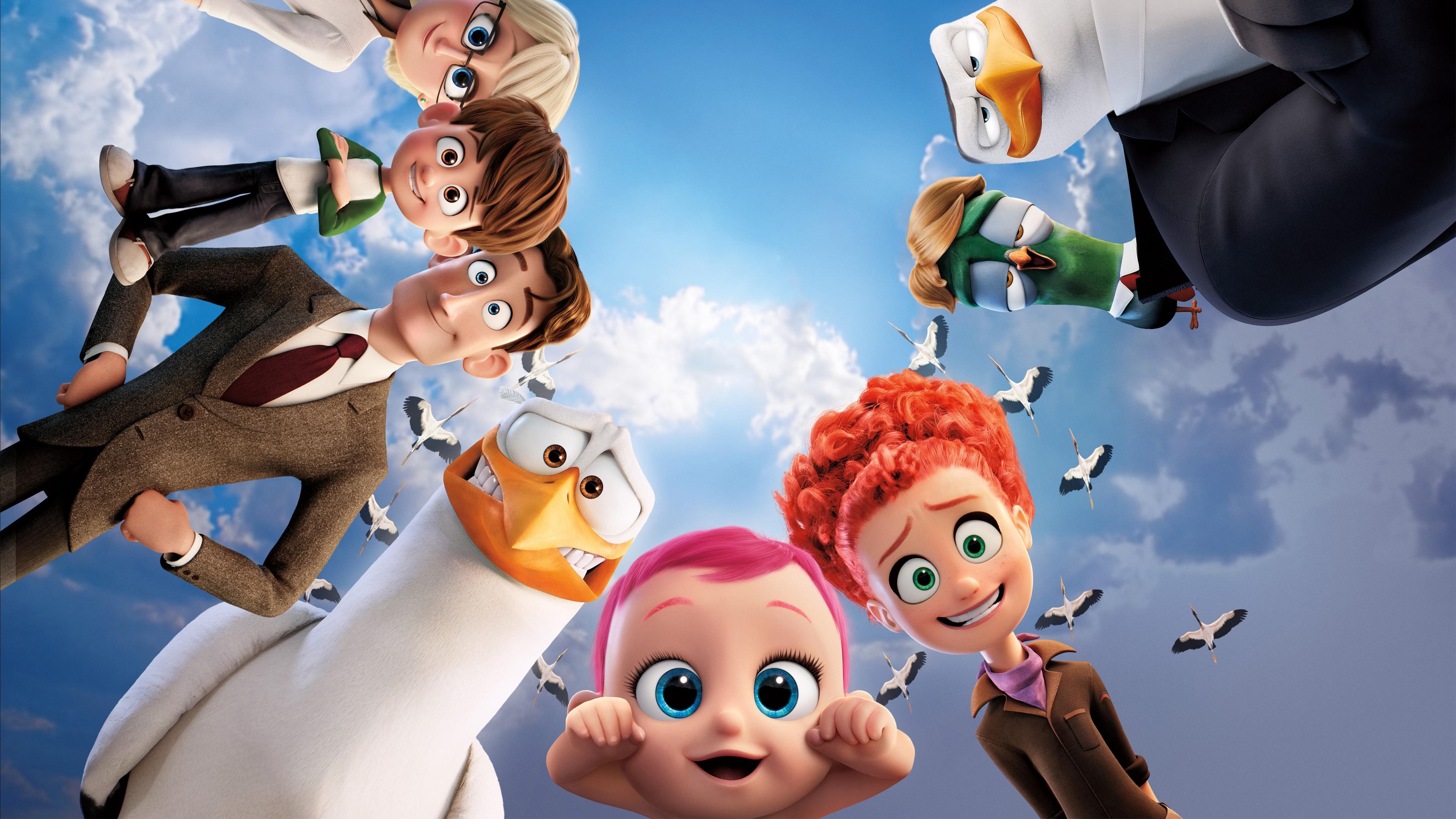 2016 Storks Animated Movie, HD Movies ...