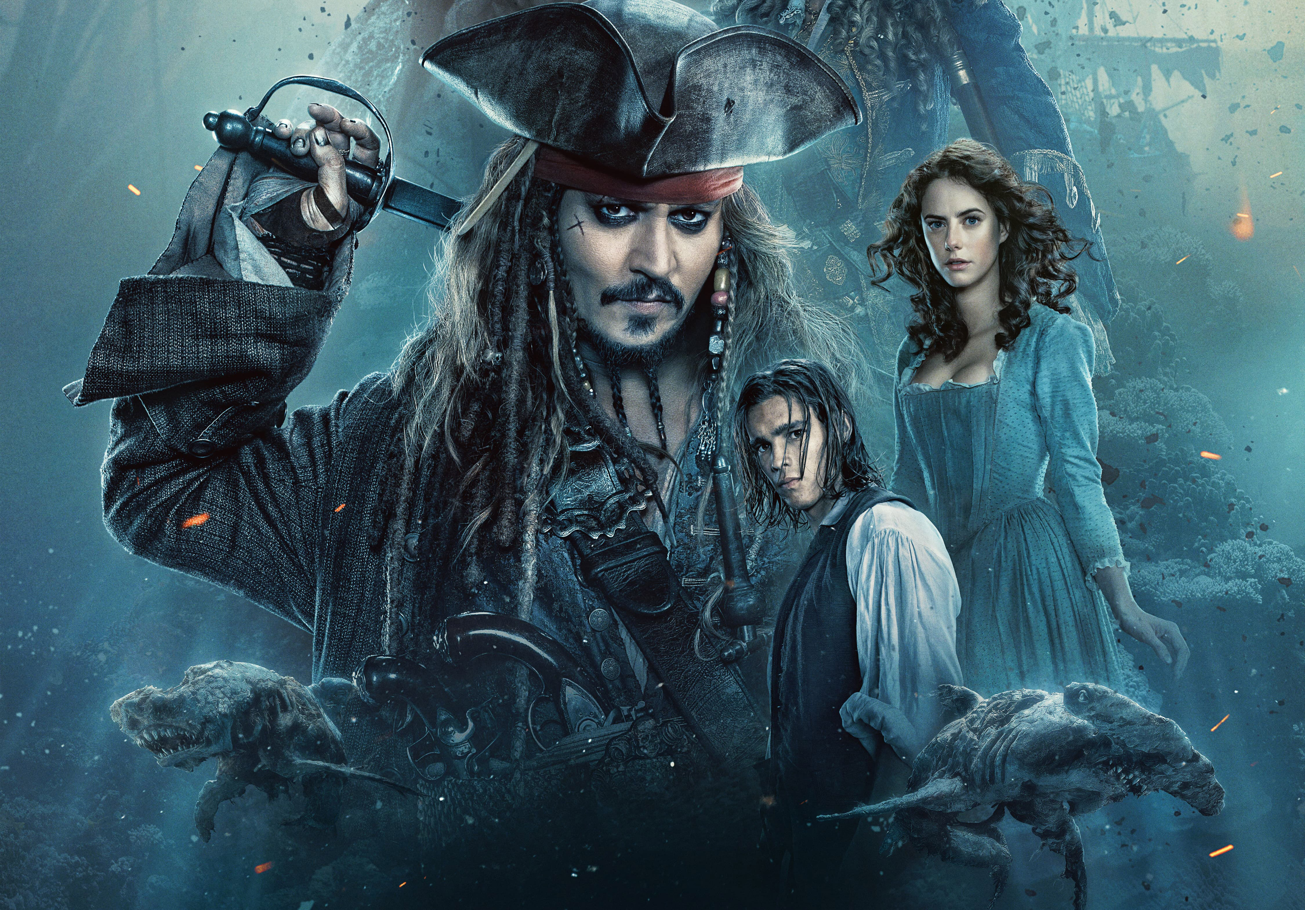 2017 Pirates Of The Caribbean Dead Men Tell No Tales Movie Hd