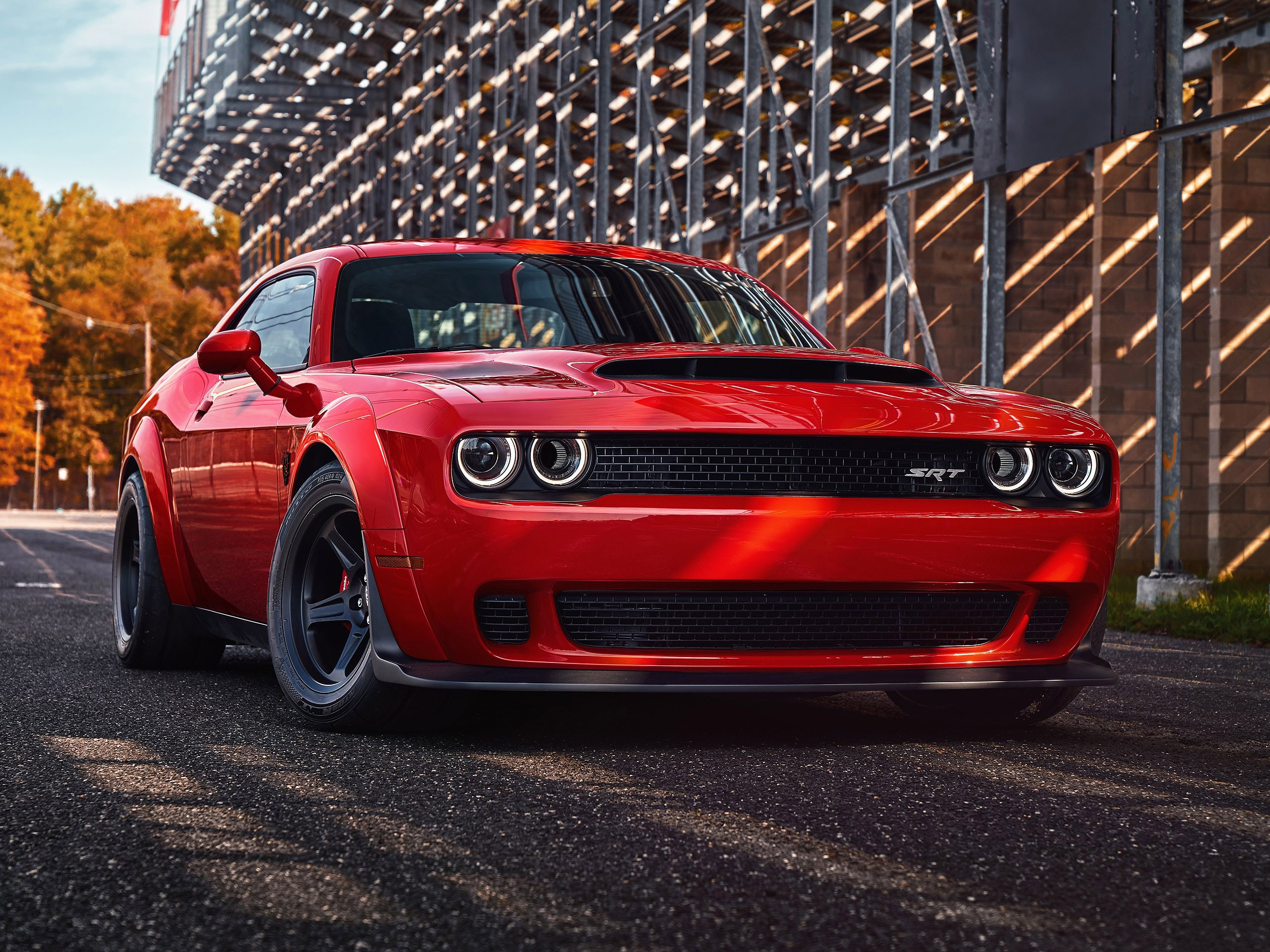 2018 Dodge Challenger Srt Demon Hd Cars 4k Wallpapers Images Backgrounds Photos And Pictures