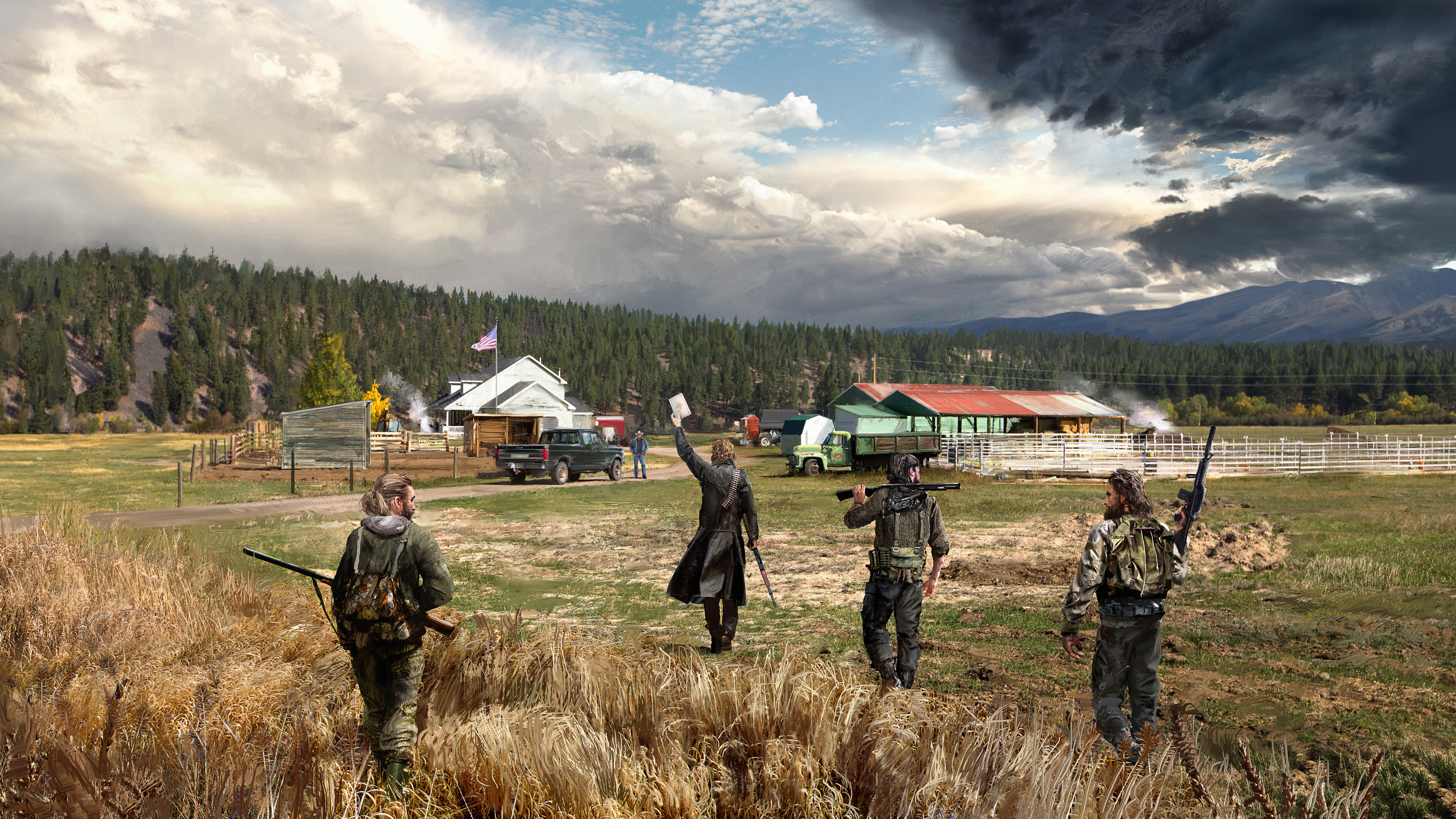 2018 Far Cry 5 4k Hd Games 4k Wallpapers Images Backgrounds
