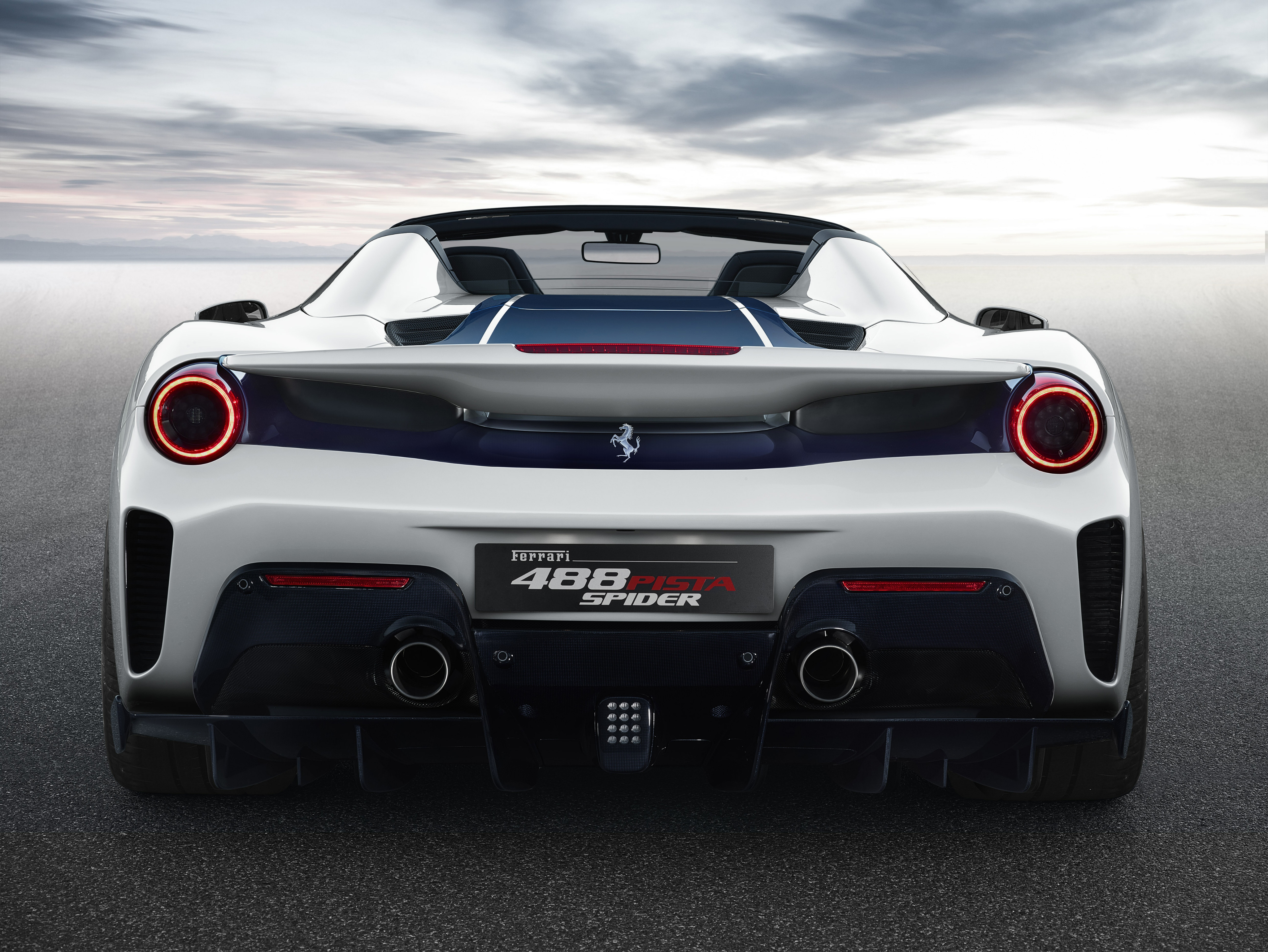 2018 Ferrari 488 Pista Spider Rear Hd Cars 4k Wallpapers Images Backgrounds Photos And Pictures