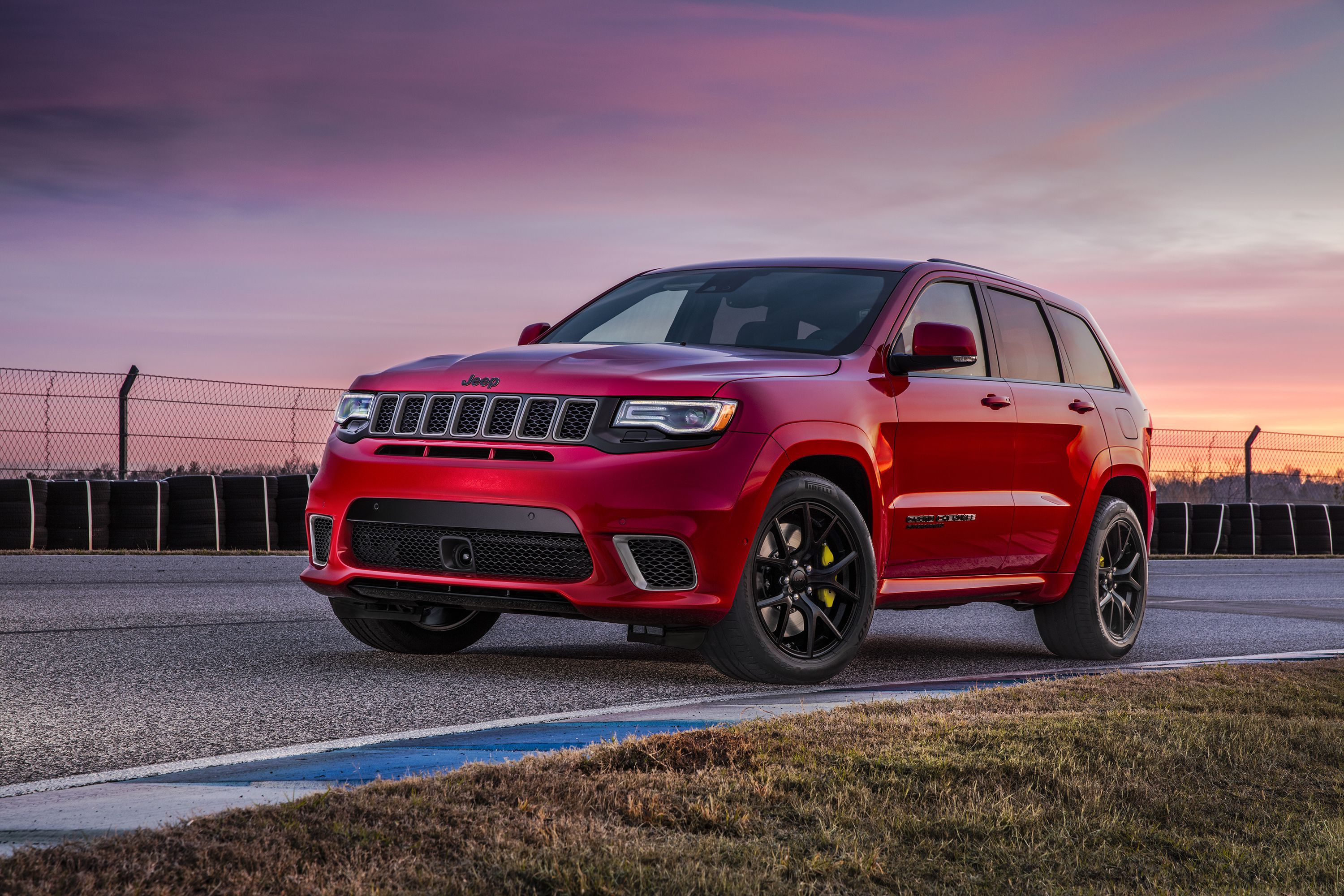 2018 Jeep Grand Cherokee Trackhawk Hd Cars 4k Wallpapers Images