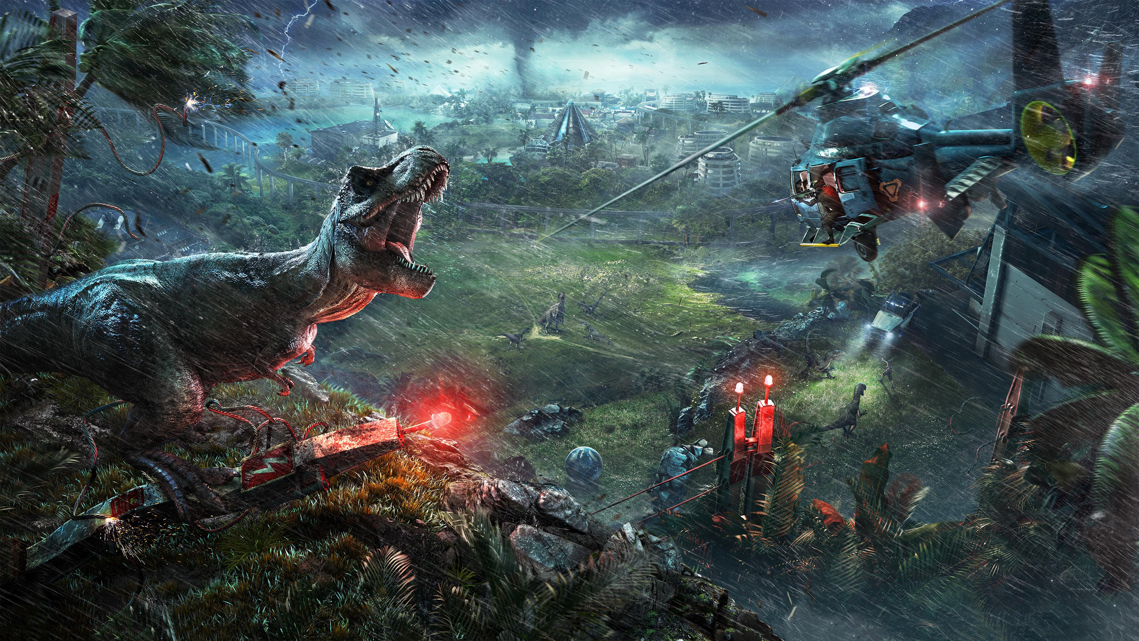 2018 Jurassic World Evolution 4k Hd Games 4k Wallpapers