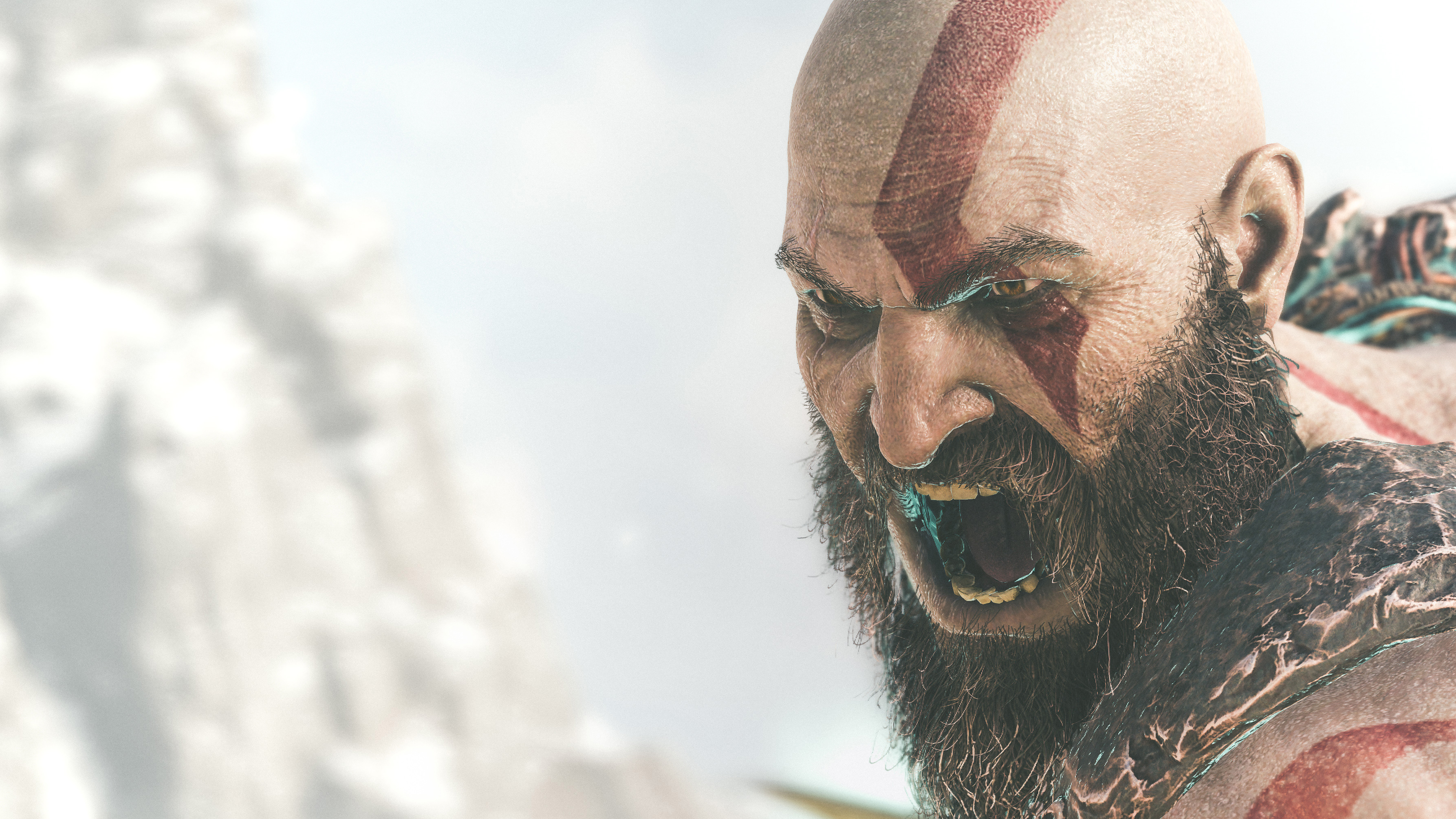 1024x768 2018 Kratos God Of War 4k 1024x768 Resolution Hd 4k