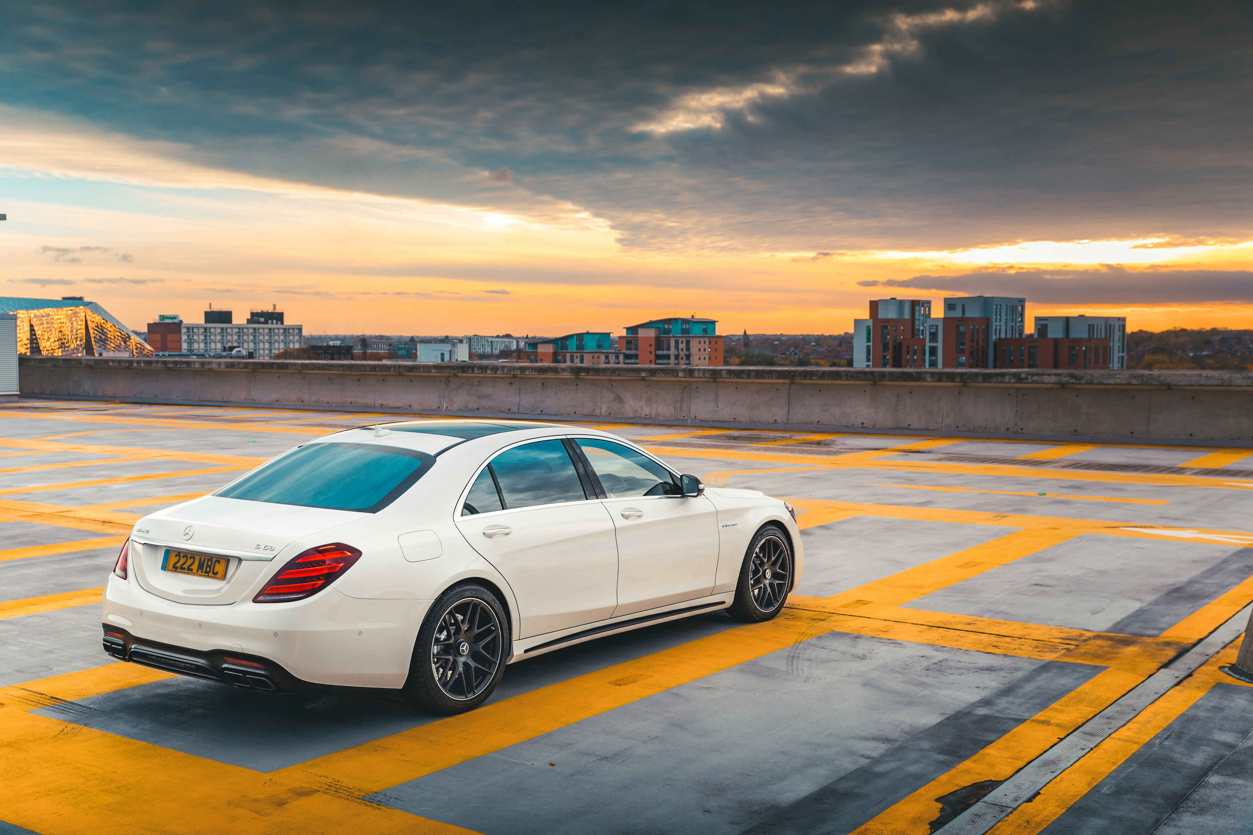 2018 Mercedes Amg S63 Back View Hd Cars 4k Wallpapers