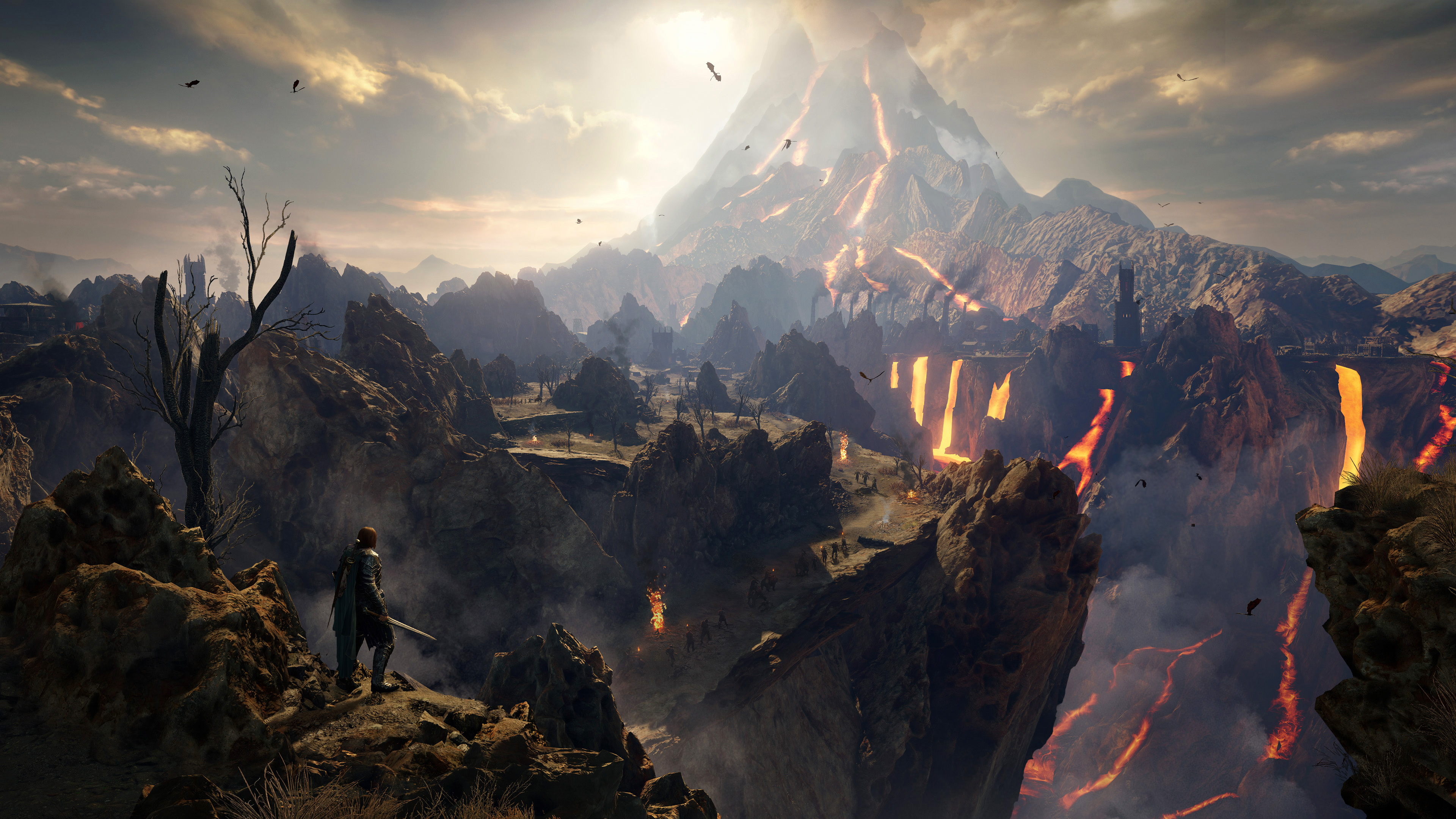 2018 Middle Earth Shadow Of War Hd Games 4k Wallpapers Images