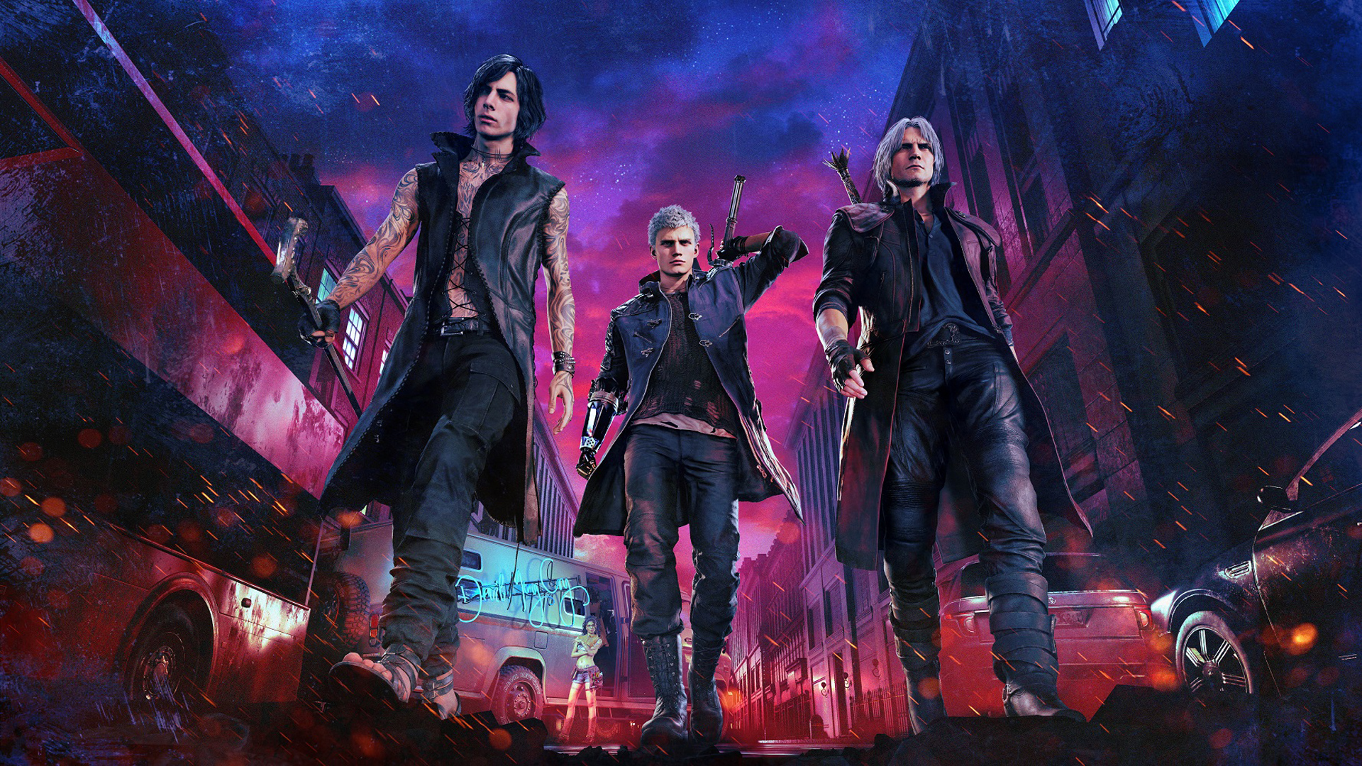2019 Devil May Cry 5 1080p Hd Games 4k Wallpapers Images