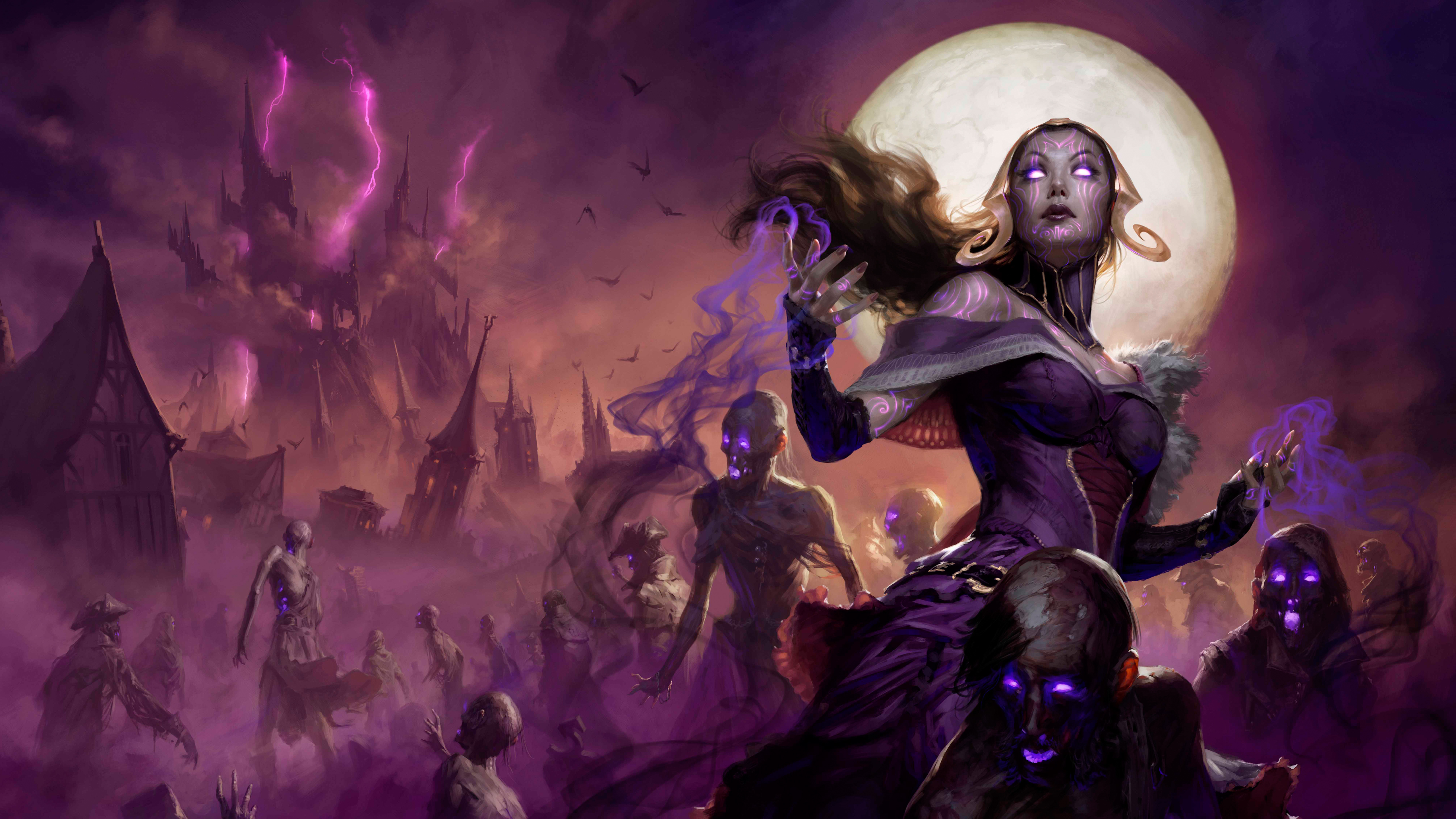 2019 Magic The Gathering Arena 5k Hd Games 4k Wallpapers Images
