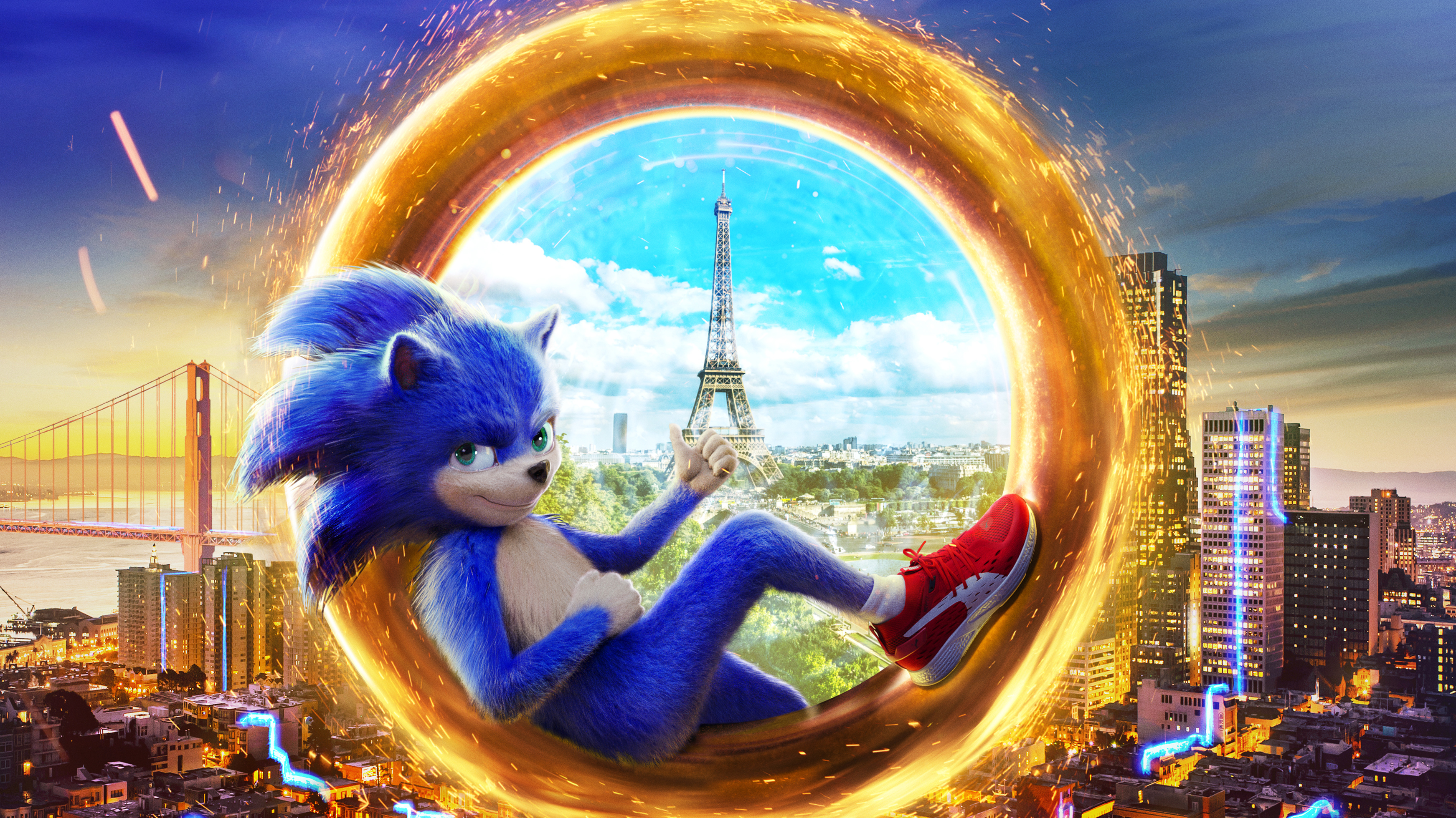 2019 Sonic The Hedgehog 4k Hd Movies 4k Wallpapers Images Backgrounds Photos And Pictures