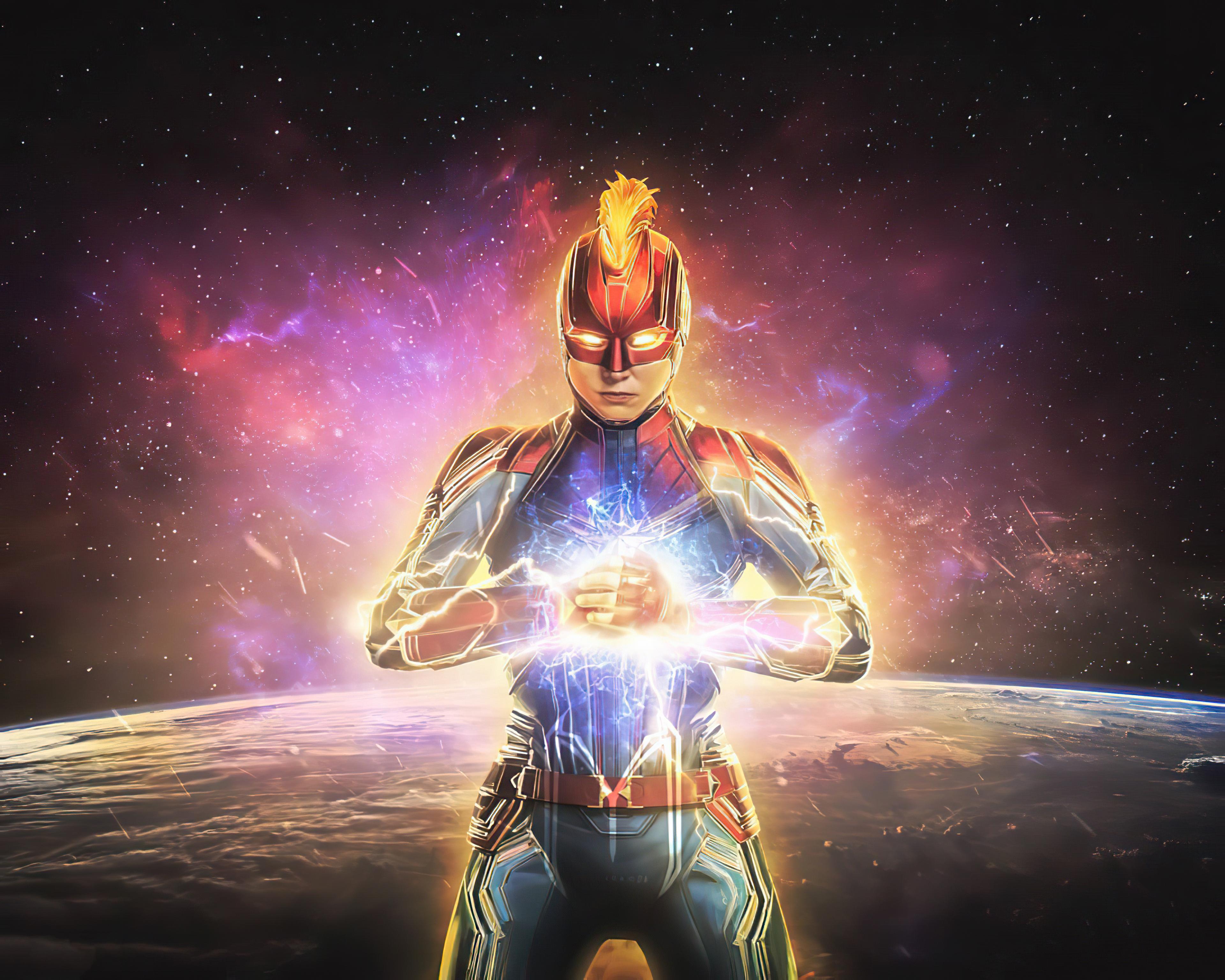 2020 Captain Marvel 4k, HD Superheroes, 4k Wallpapers ...