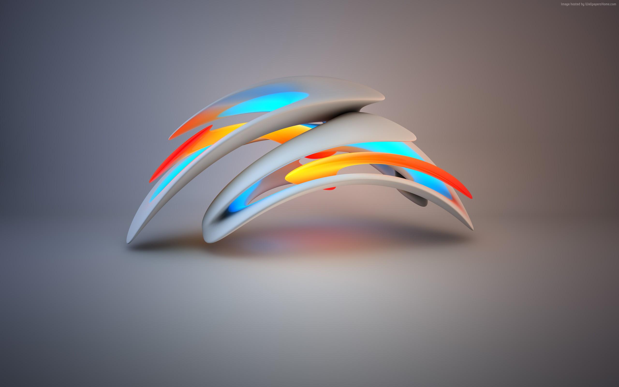 3d abstract artwork hd