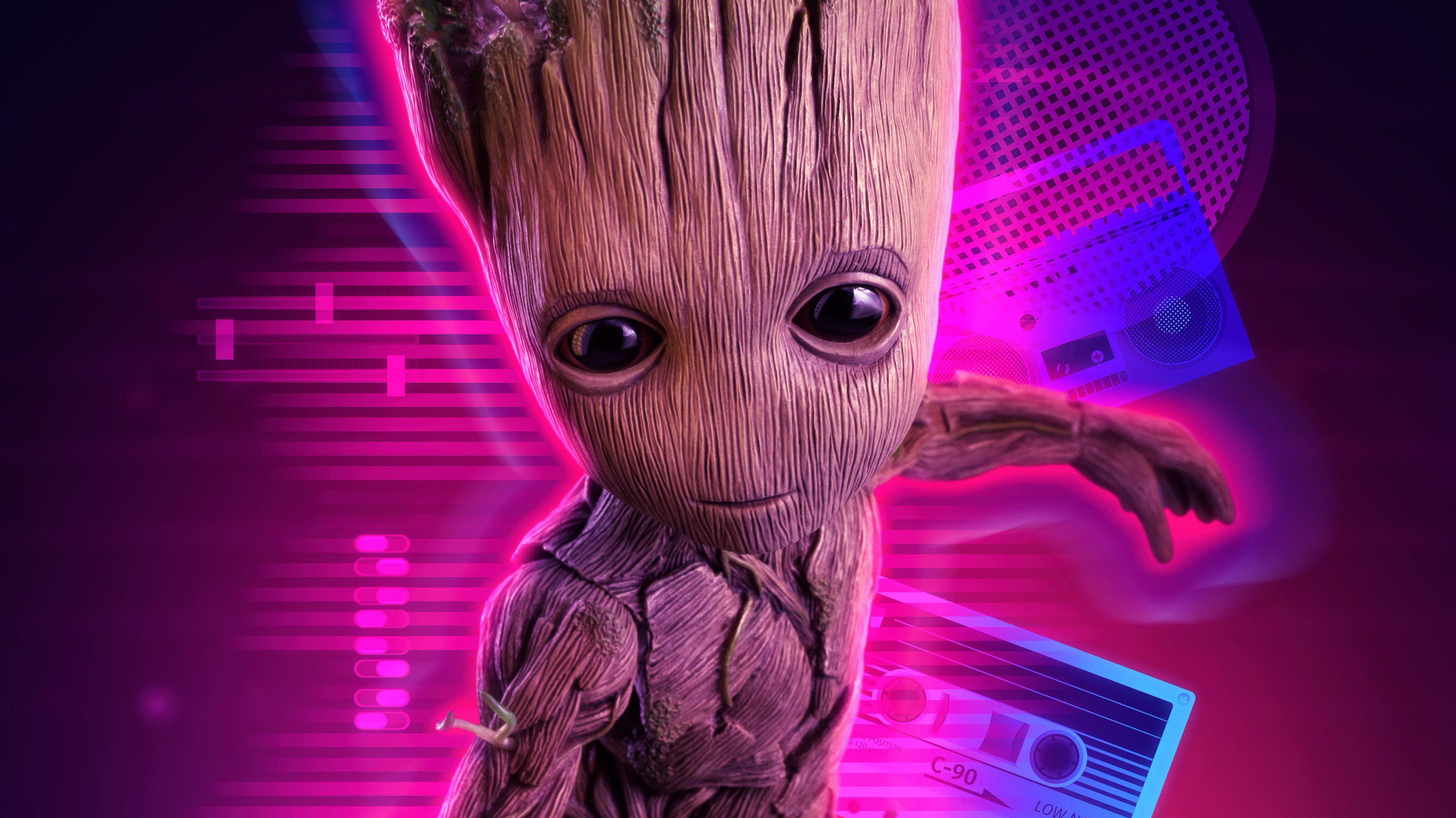 2560x1080 4k Baby Groot 2560x1080 Resolution Hd 4k Wallpapers Images Backgrounds Photos And Pictures