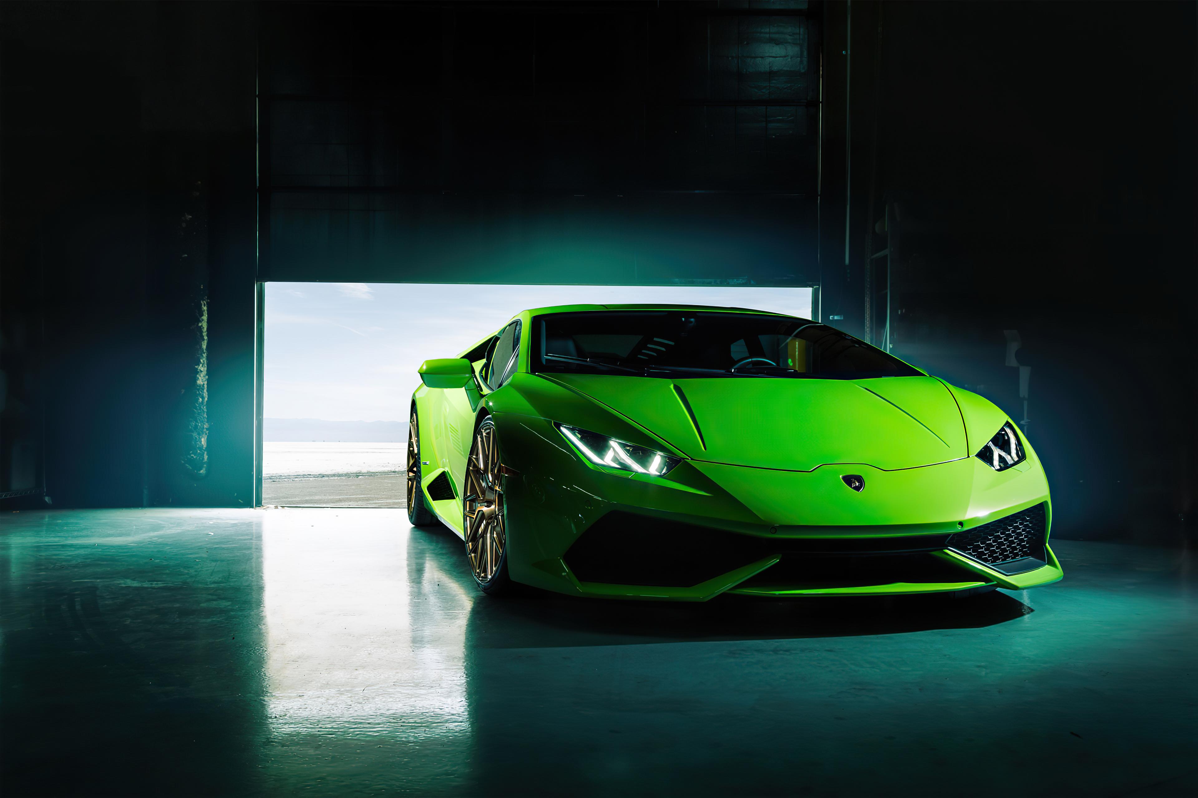 4k Green Lamborghini Huracan 2020, HD Cars, 4k Wallpapers ...