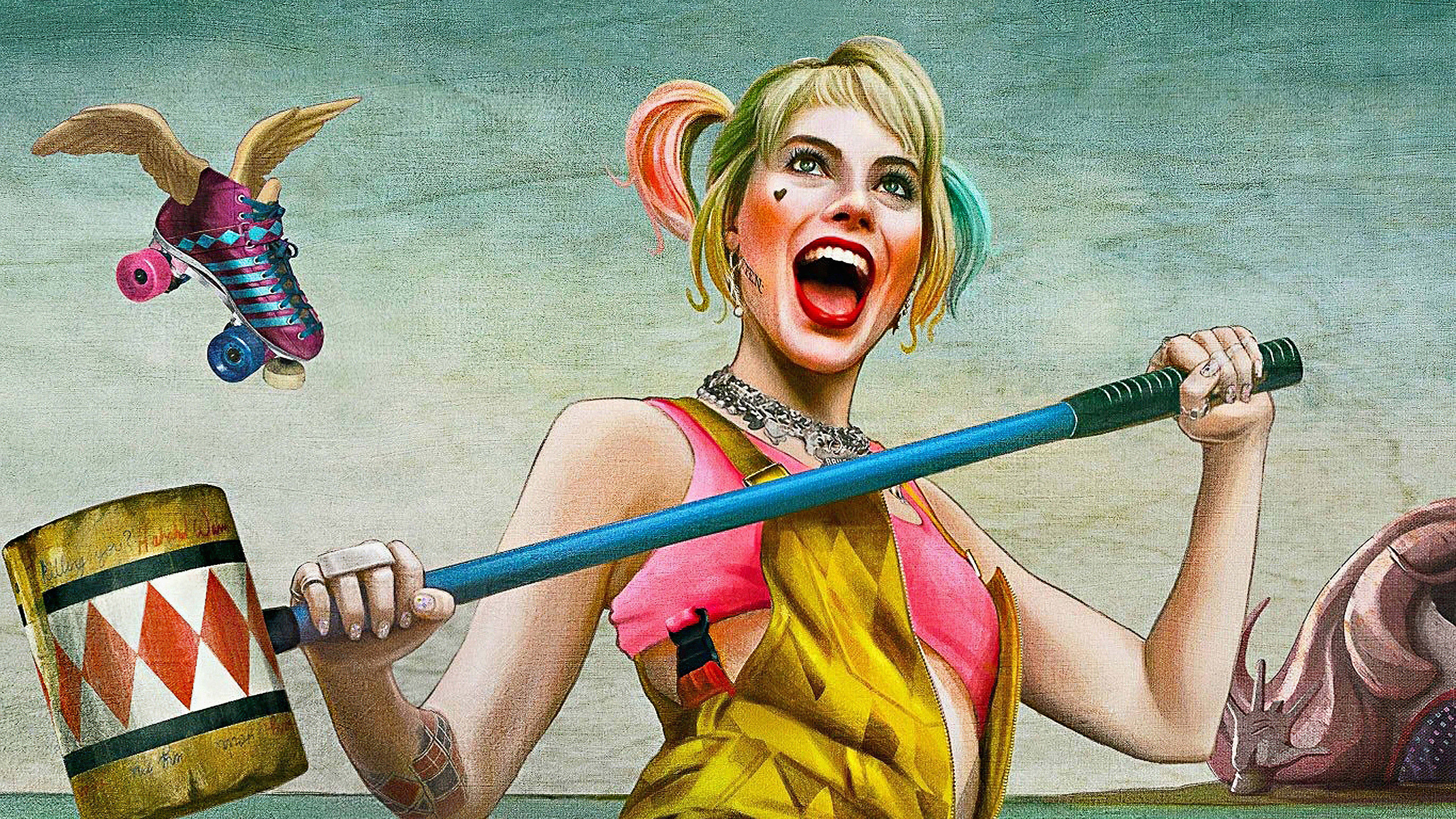 1280x720 4k Harley Quinn Birds Of Prey 720p Hd 4k Wallpapers Images Backgrounds Photos And Pictures