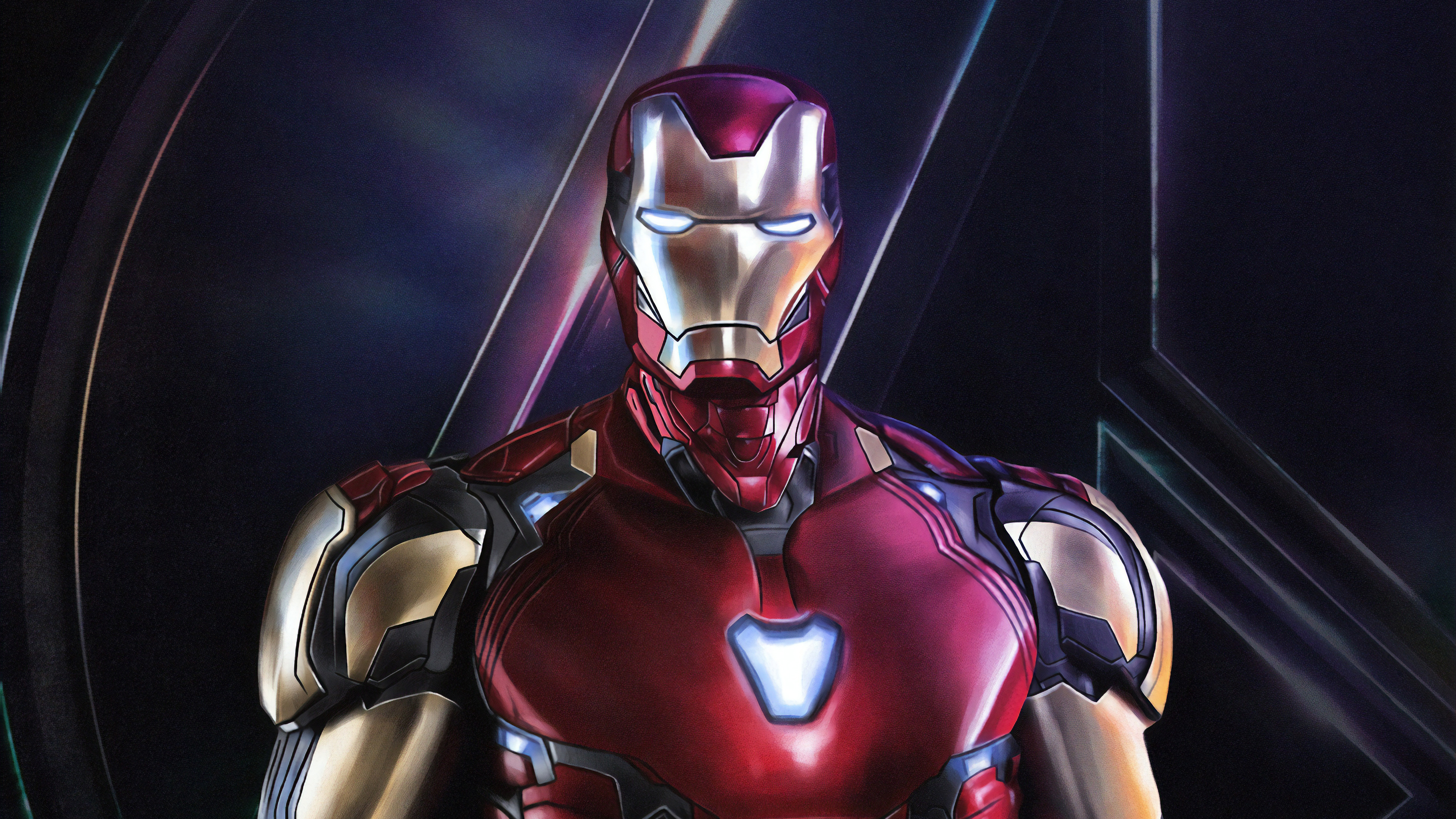 4k Iron Man Avengers Endgame, HD Superheroes, 4k ...