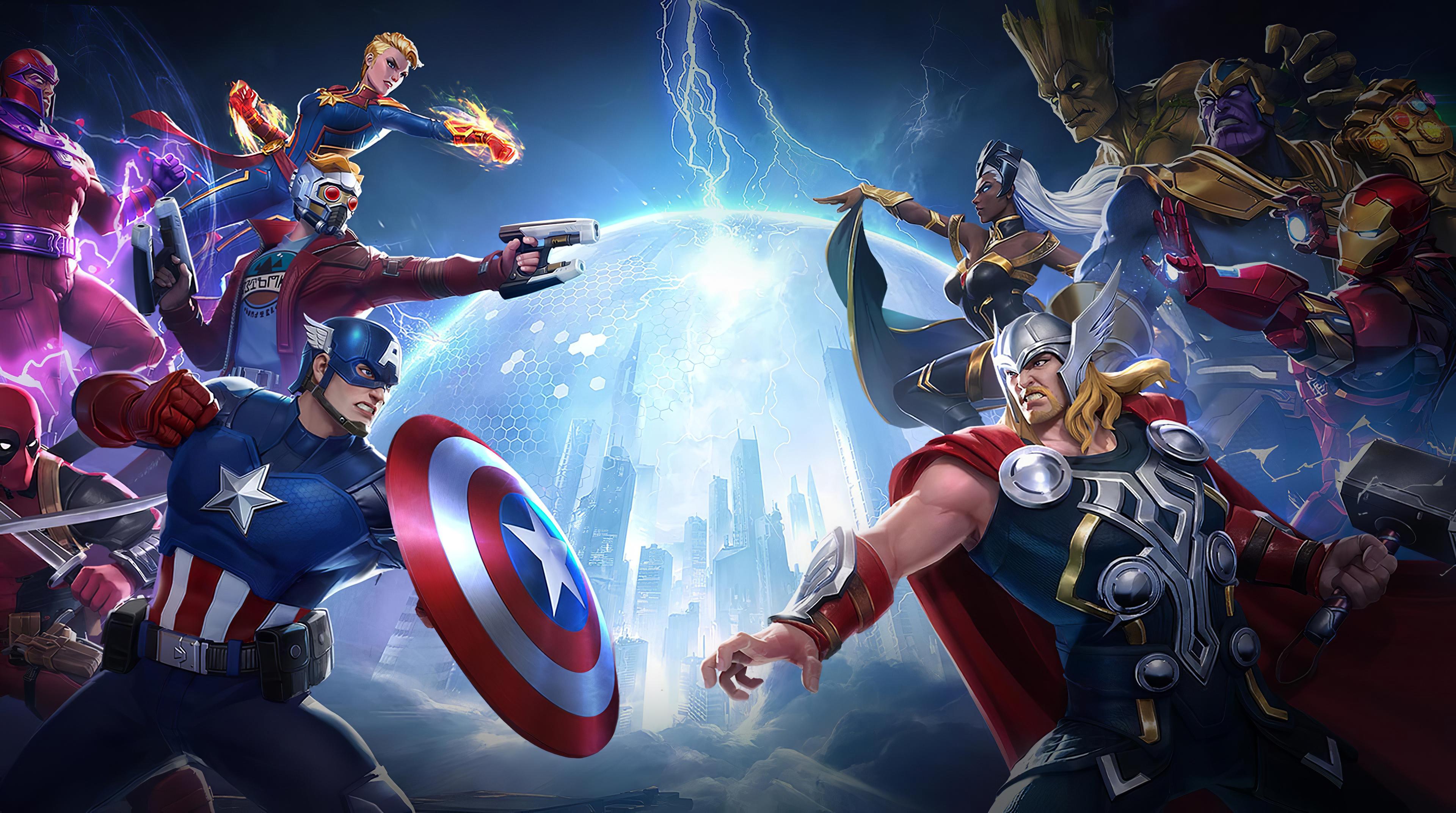 3840x2160 4k Marvel Super War 4k HD 4k Wallpapers, Images ...