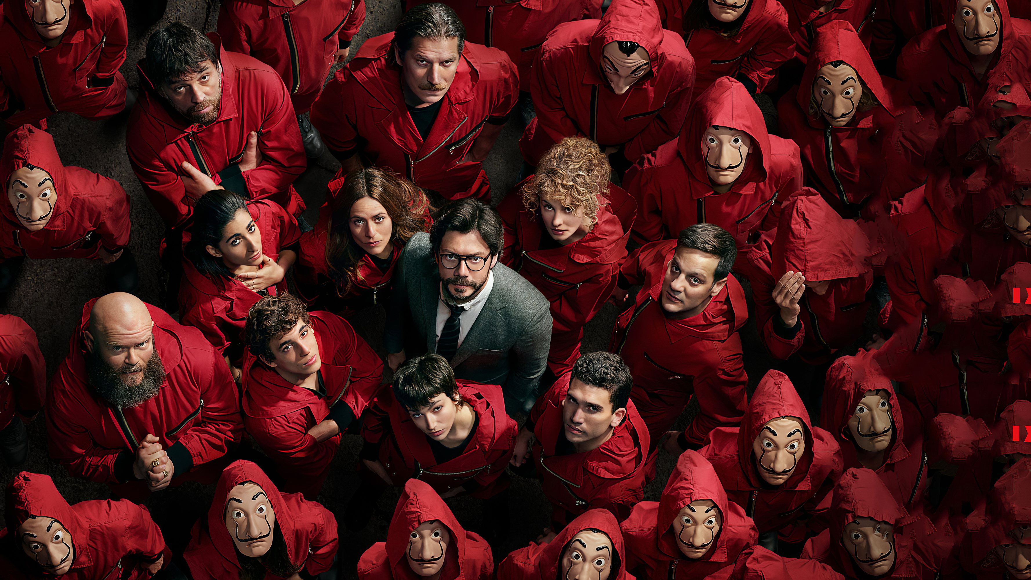 4k Money Heist Season 4 Netflix Hd Tv Shows 4k Wallpapers