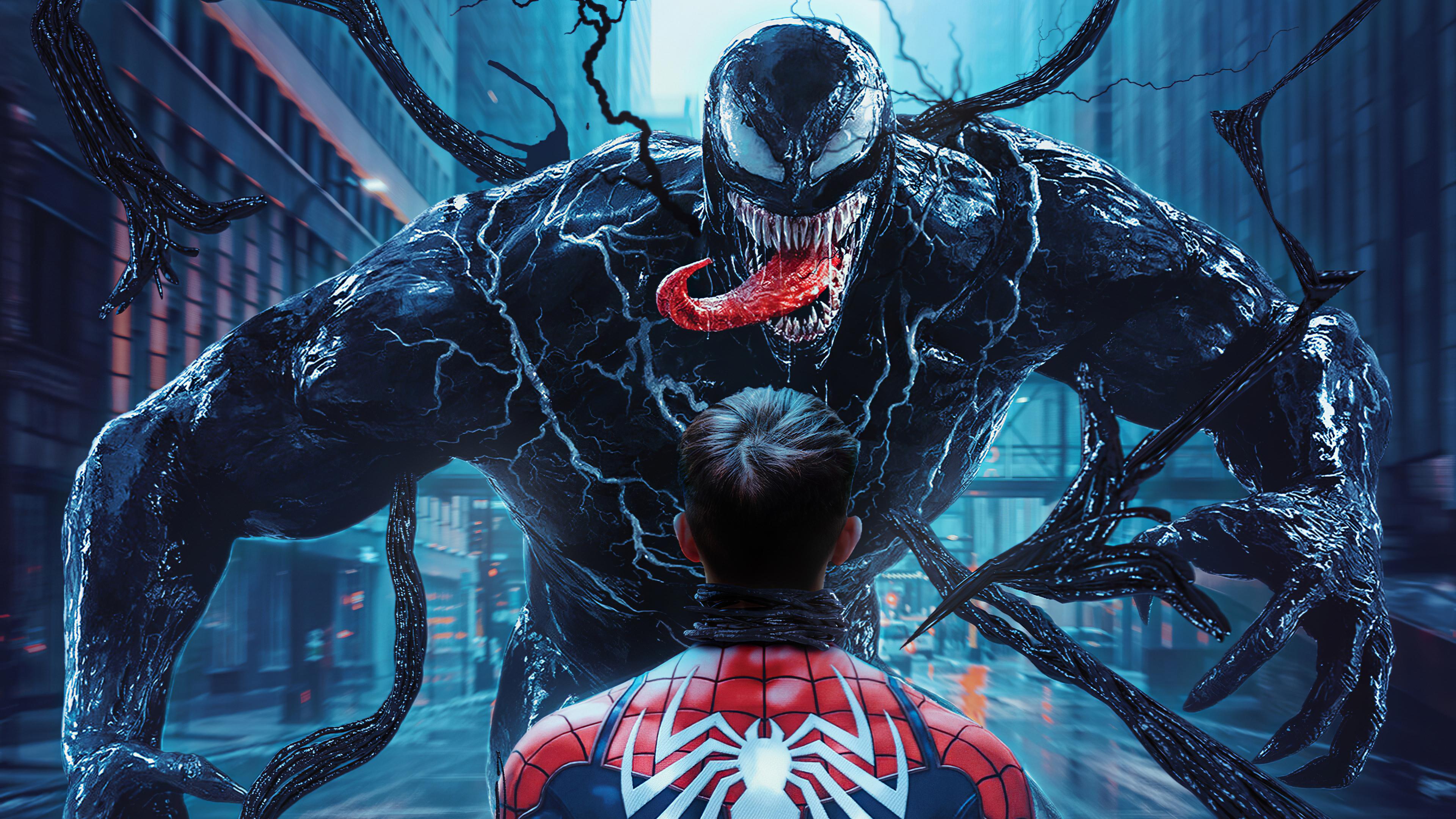 4k Spider Man Vs Venom, HD Superheroes, 4k Wallpapers ...