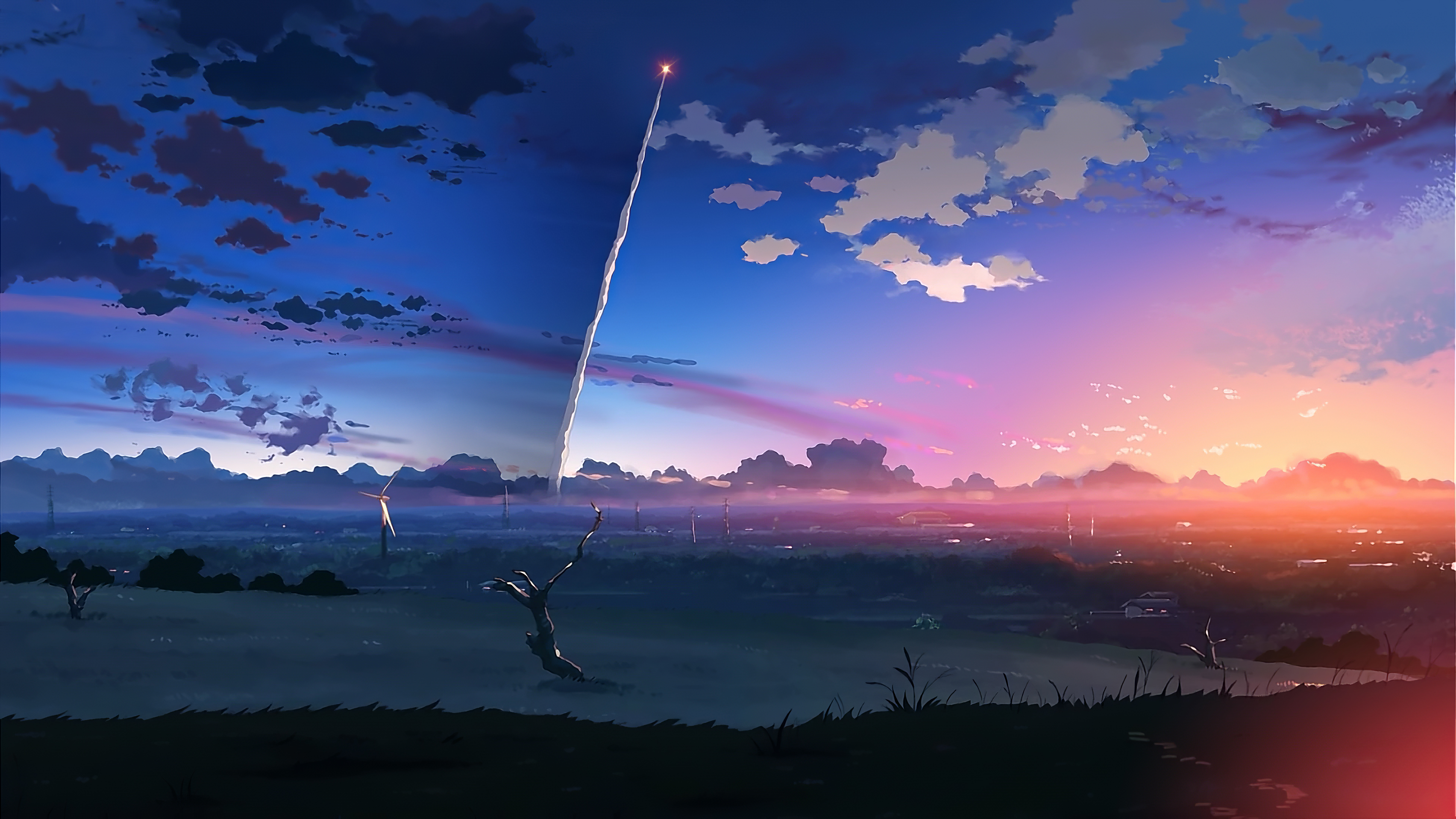 5 Centimeters Per Second Anime Tv Series Hd Anime 4k Wallpapers