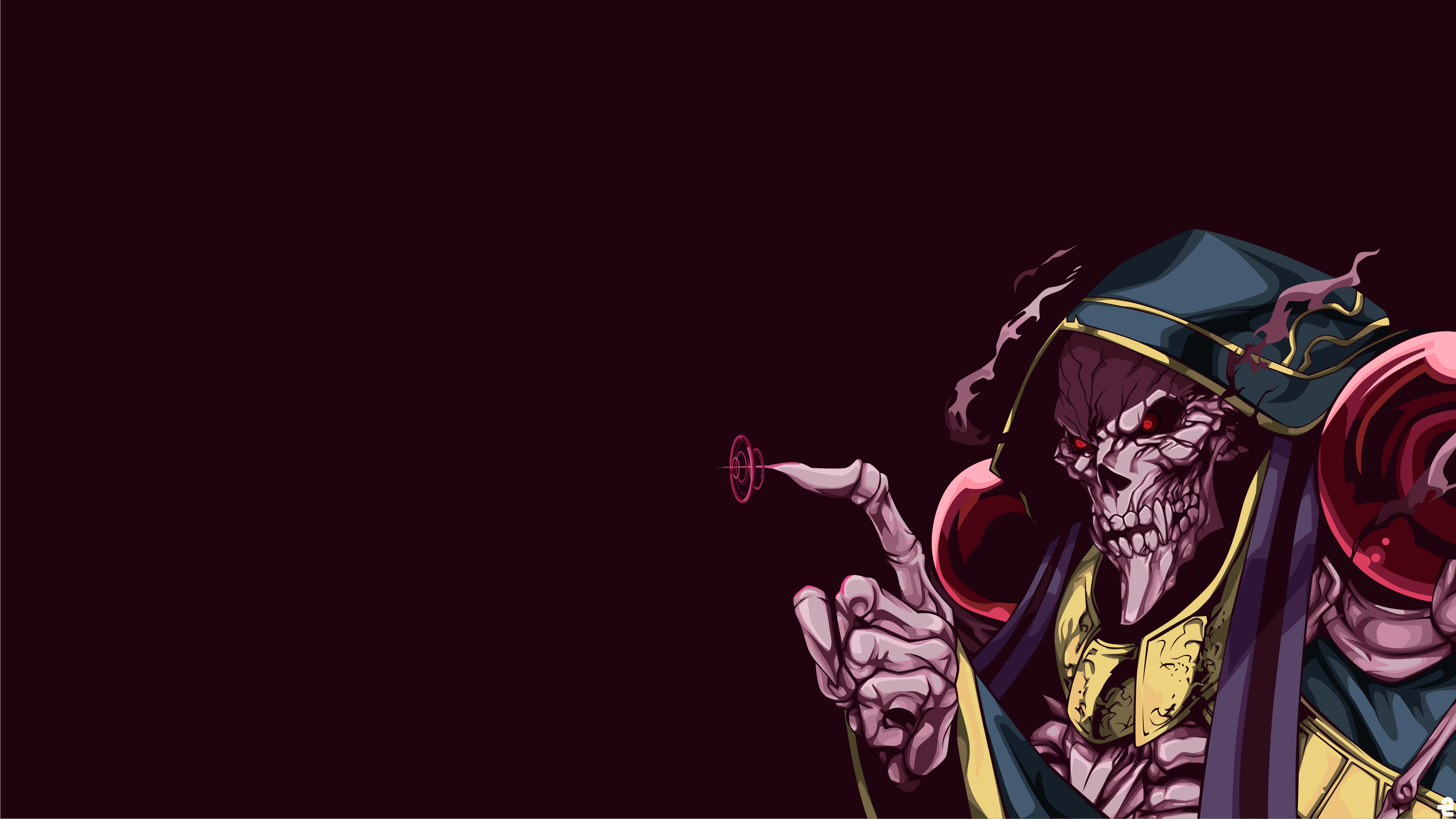 Ainz Ooal Gown Overload Anime 4k Hd Anime 4k Wallpapers Images Backgrounds Photos And Pictures