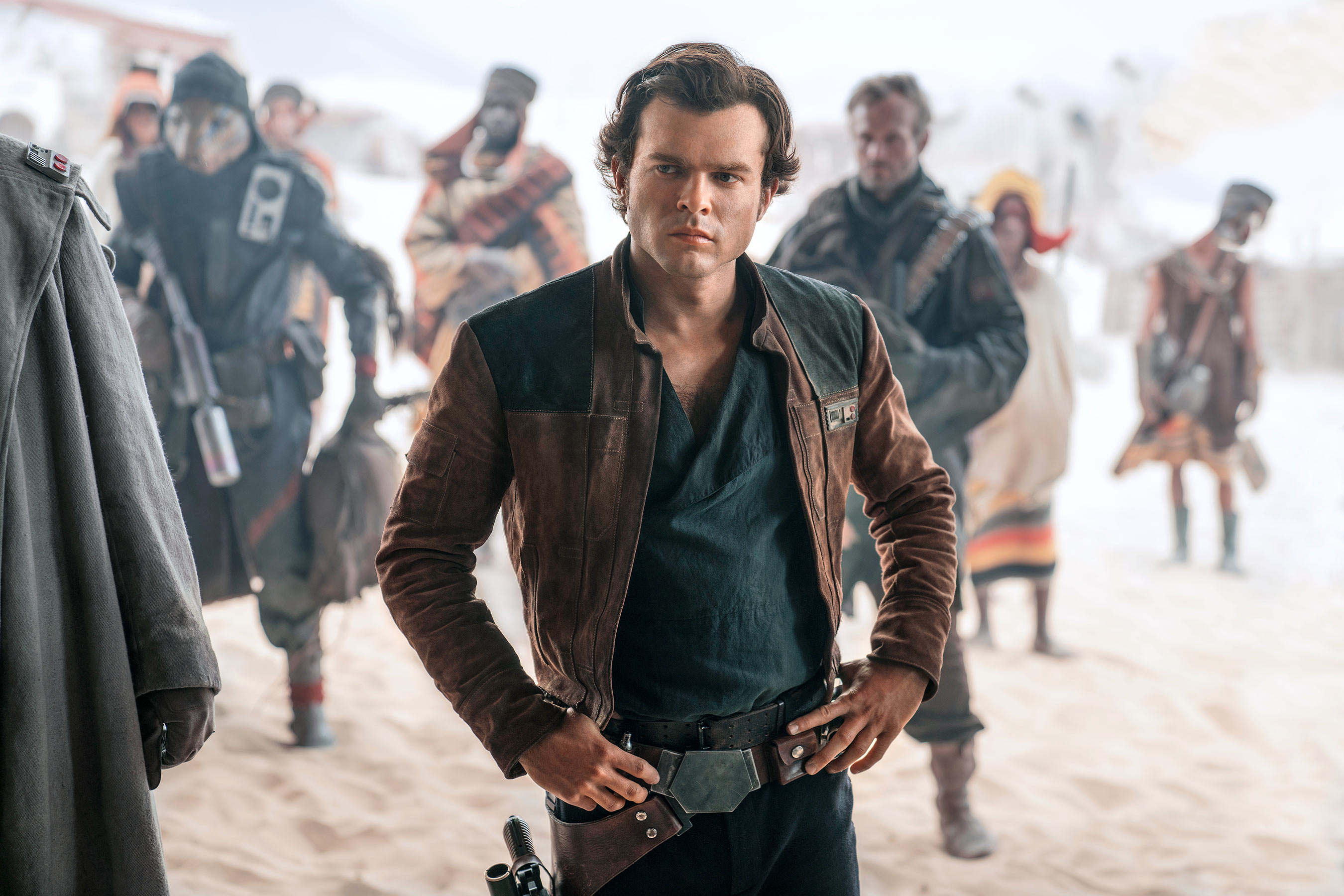 1280x1024 Alden Ehrenreich As Han Solo In Solo A Star Wars Story