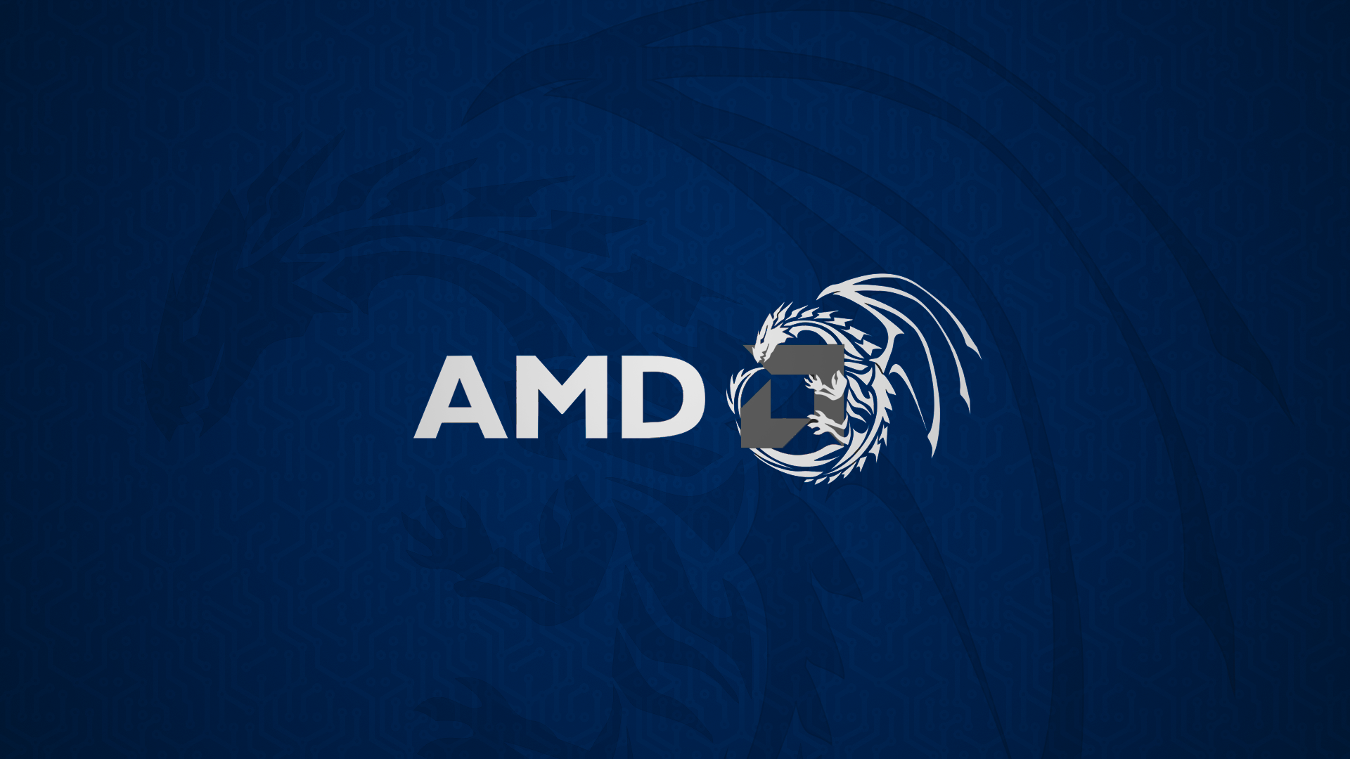 Amd Blue Dragon Hd Computer 4k Wallpapers Images Backgrounds Photos And Pictures