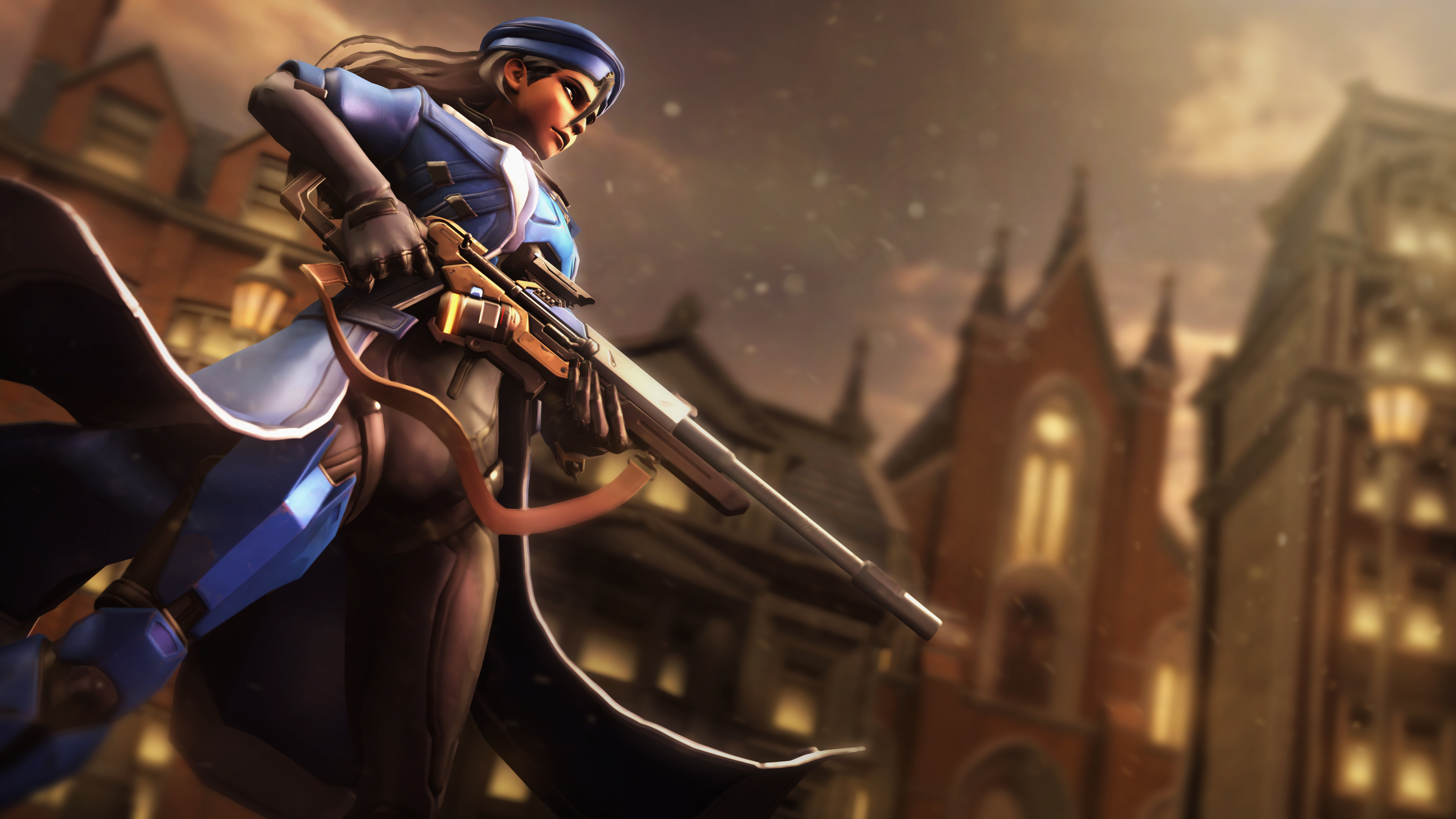 1600x900 Ana Overwatch 5k 1600x900 Resolution Hd 4k Wallpapers Images Backgrounds Photos And Pictures