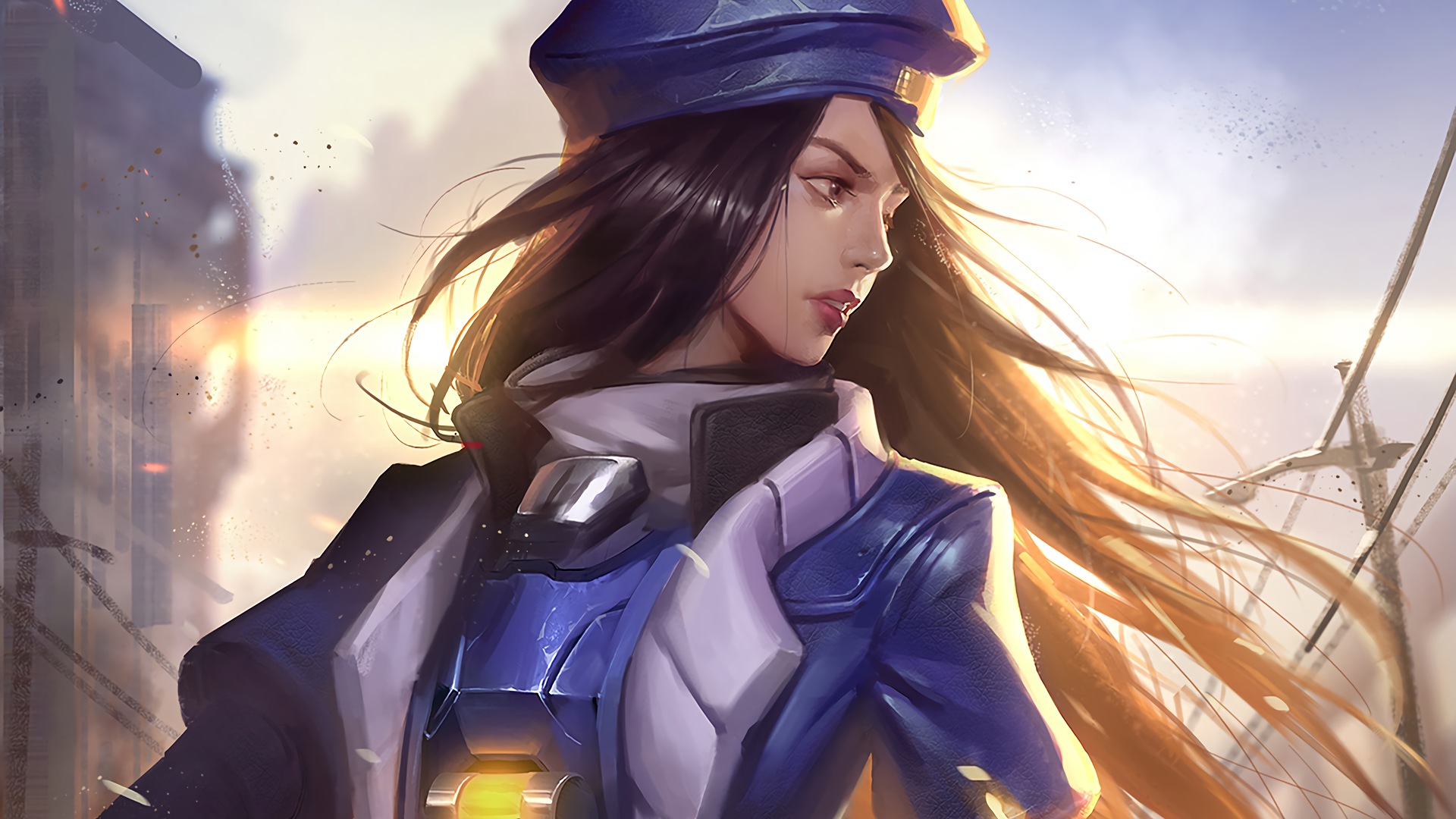 Ana Overwatch Artwork Hd Games 4k Wallpapers Images Backgrounds Photos And Pictures