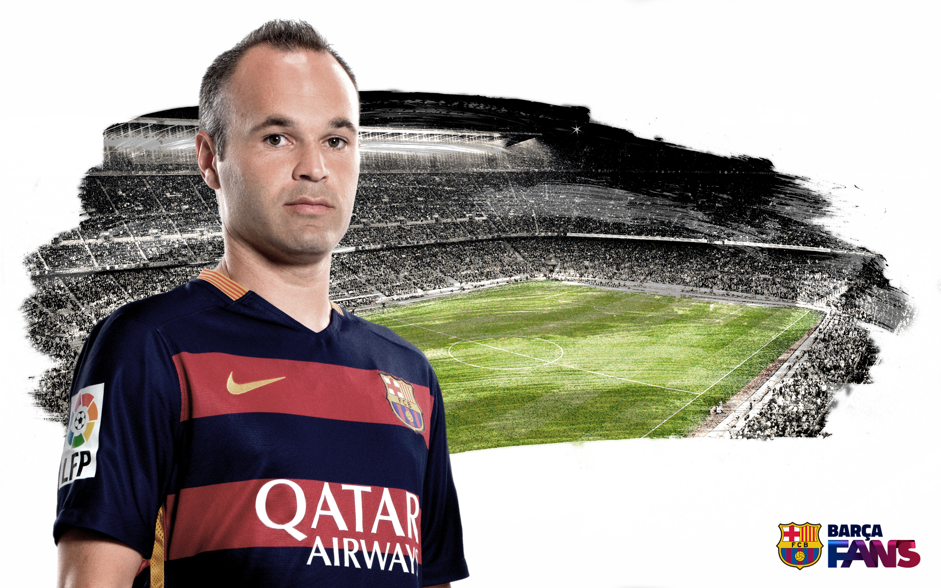 Andres Iniesta Fc Barcelona Hd Sports 4k Wallpapers Images