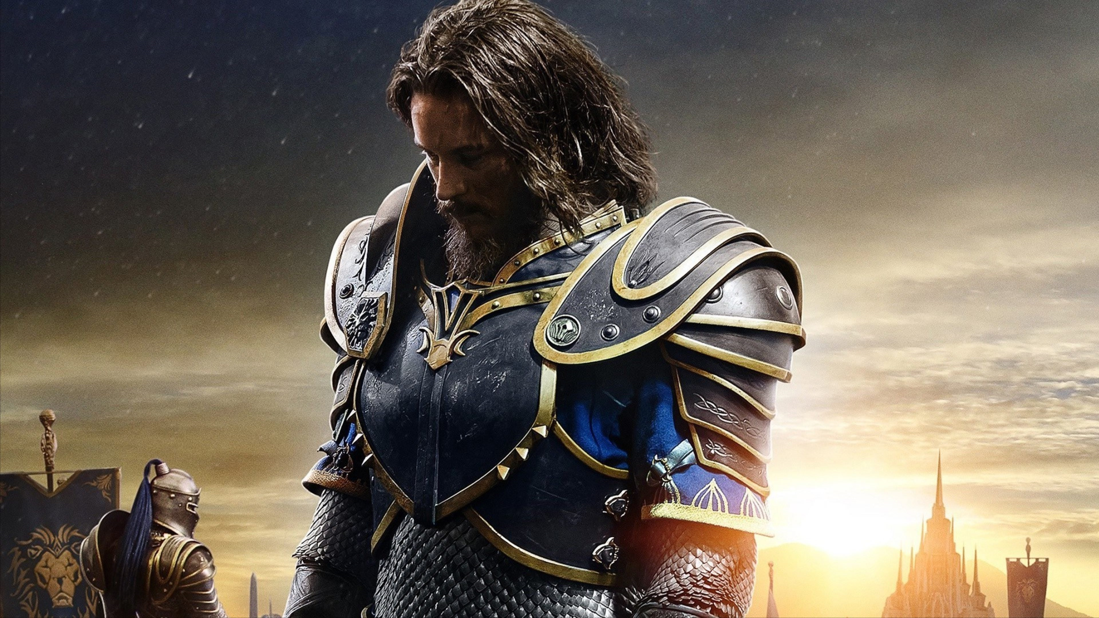 Anduin Lothar In Warcraft Movie Hd Movies 4k Wallpapers Images