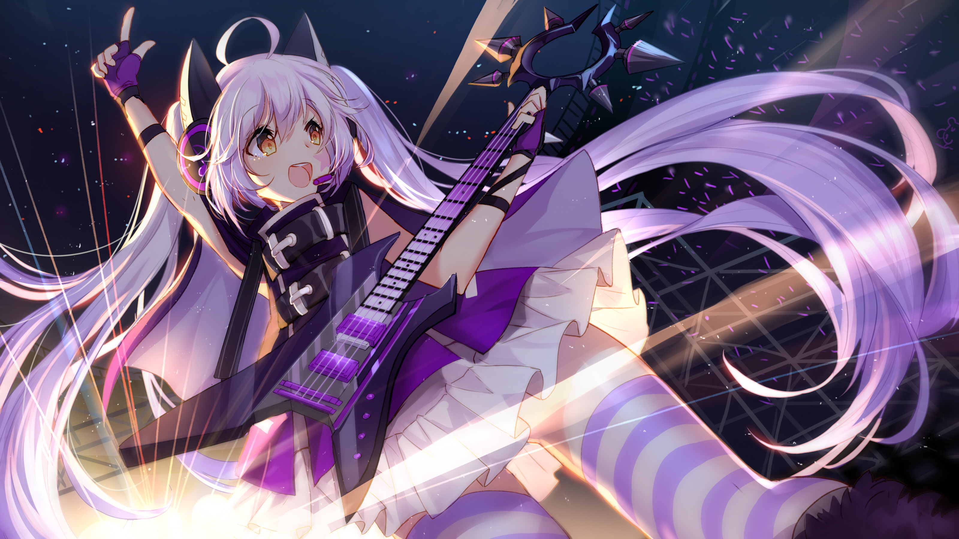 Anime Girl Concert 4k Hd Anime 4k Wallpapers Images Backgrounds Photos And Pictures