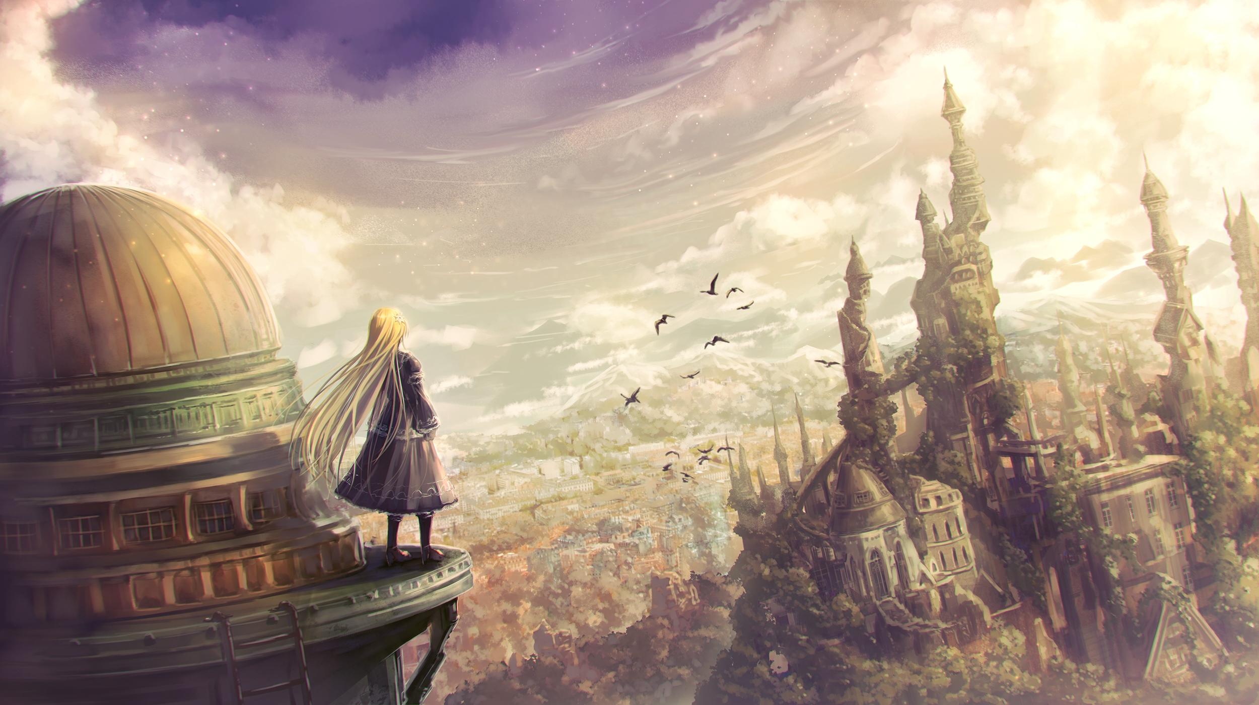 Anime Girl Fantasy Artwork, HD Anime, 4k Wallpapers ...