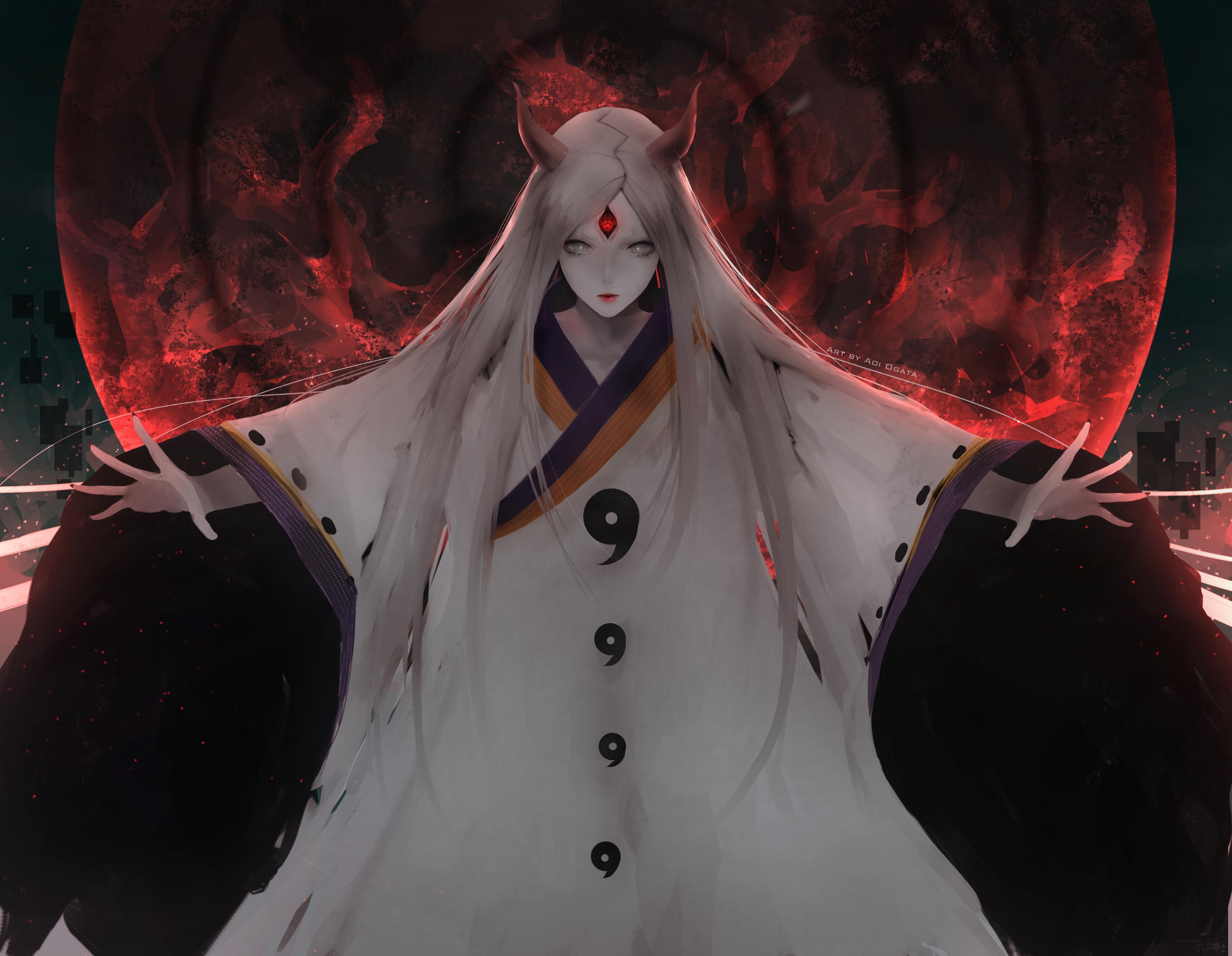 anime naruto artwork 4k 6e