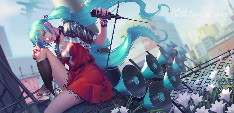 Anime Vocaloid Hatsune Miku Rt Hd Anime 4k Wallpapers Images