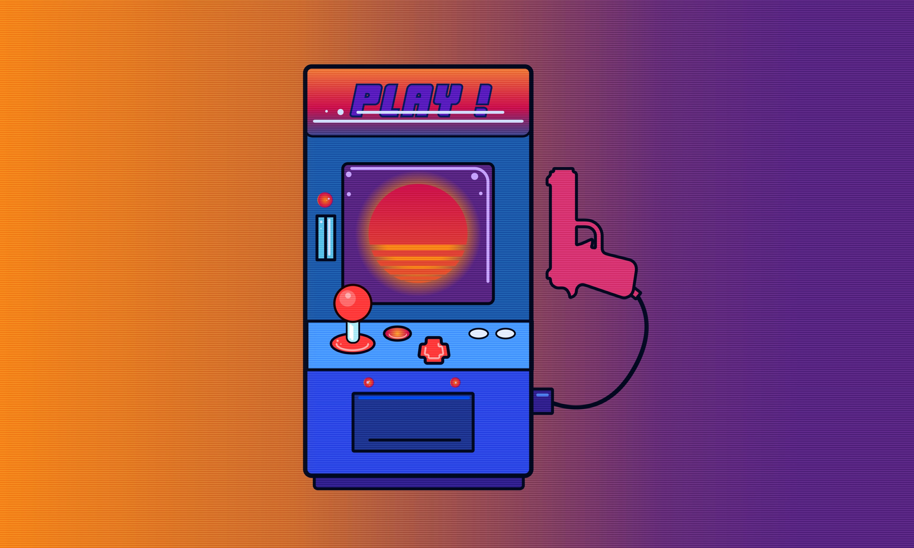 2048x1152 Arcade Games Retro Wave 2048x1152 Resolution Hd 4k Wallpapers Images Backgrounds Photos And Pictures
