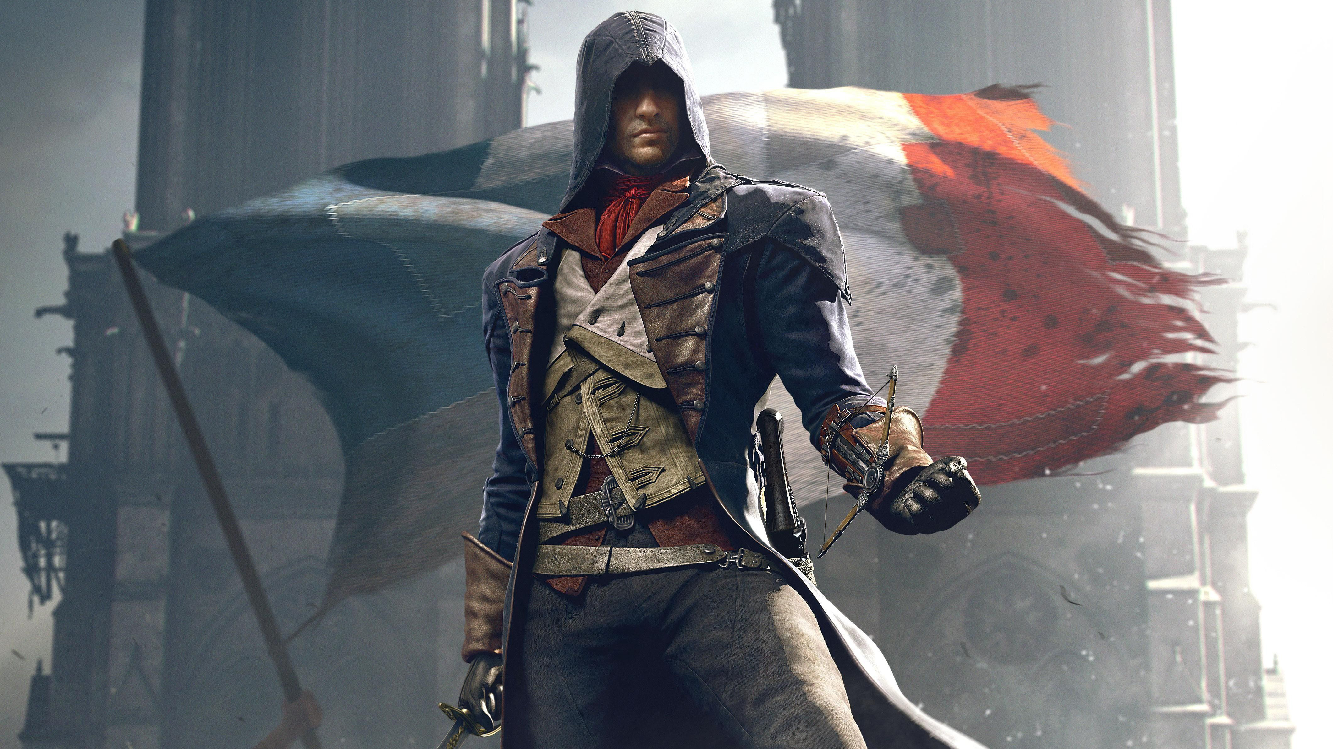 Art Of Assassins Creed Unity Hd Games 4k Wallpapers Images