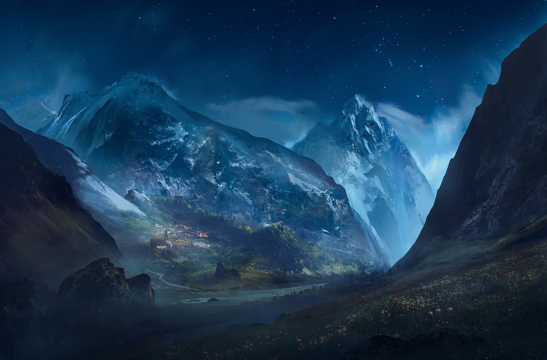 Artistic Landscape Mountains Hd Nature 4k Wallpapers Images Backgrounds Photos And Pictures