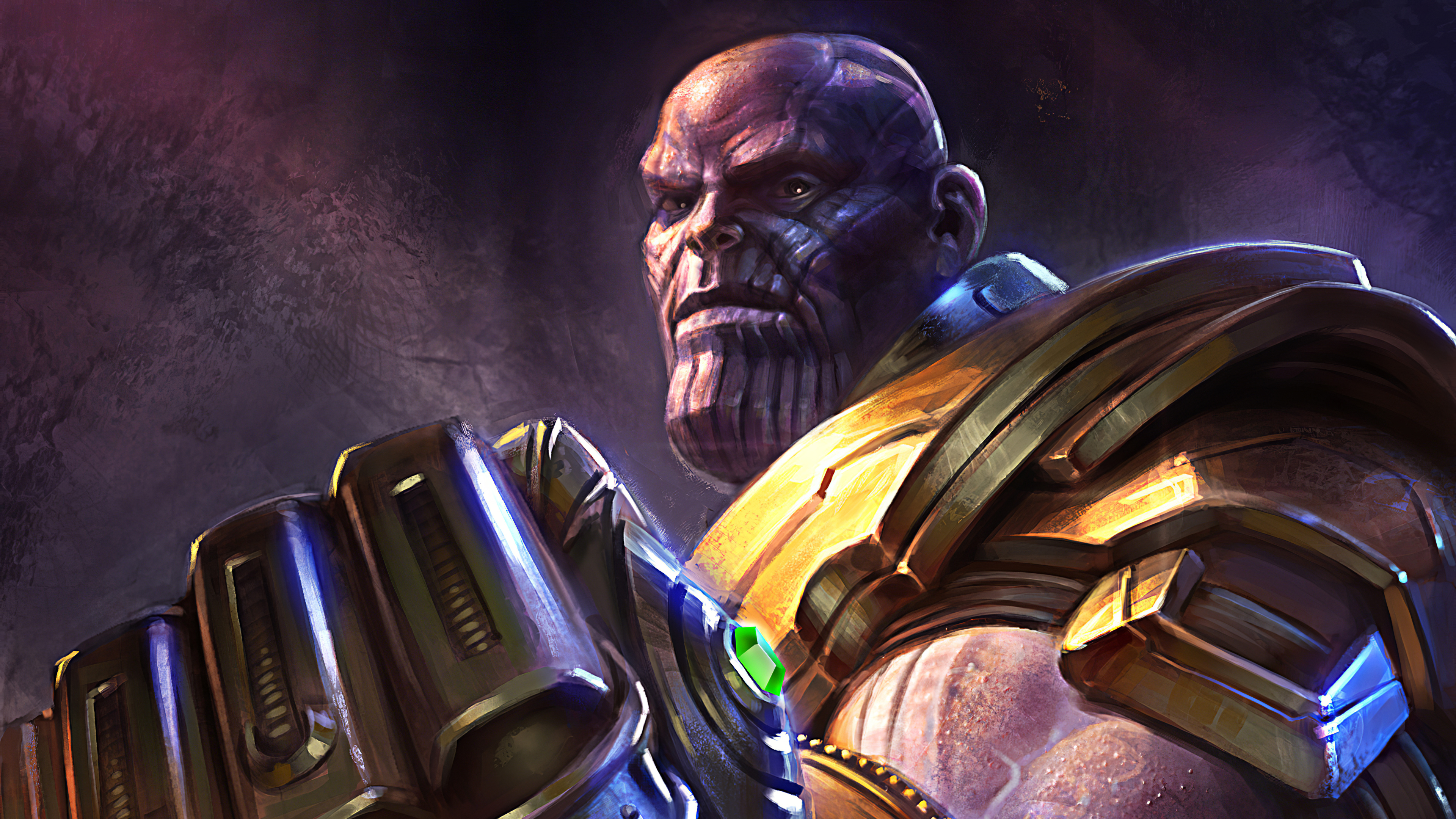 1440x900 Artwork Thanos 4k 1440x900 Resolution Hd 4k Wallpapers Images Backgrounds Photos And Pictures
