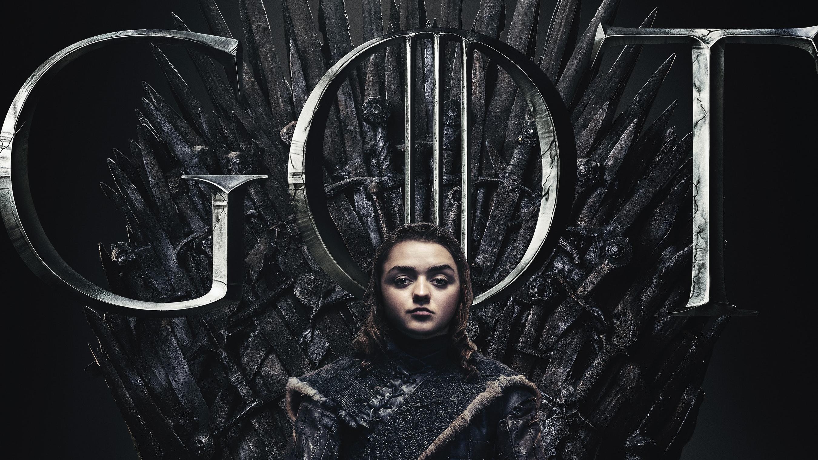 Arya Stark Game Of Thrones Season 8 Poster Hd Tv Shows 4k