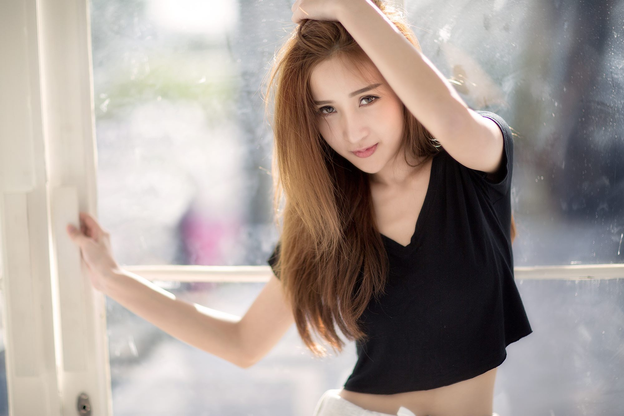 Wallpaper girl cute asian Girls Images