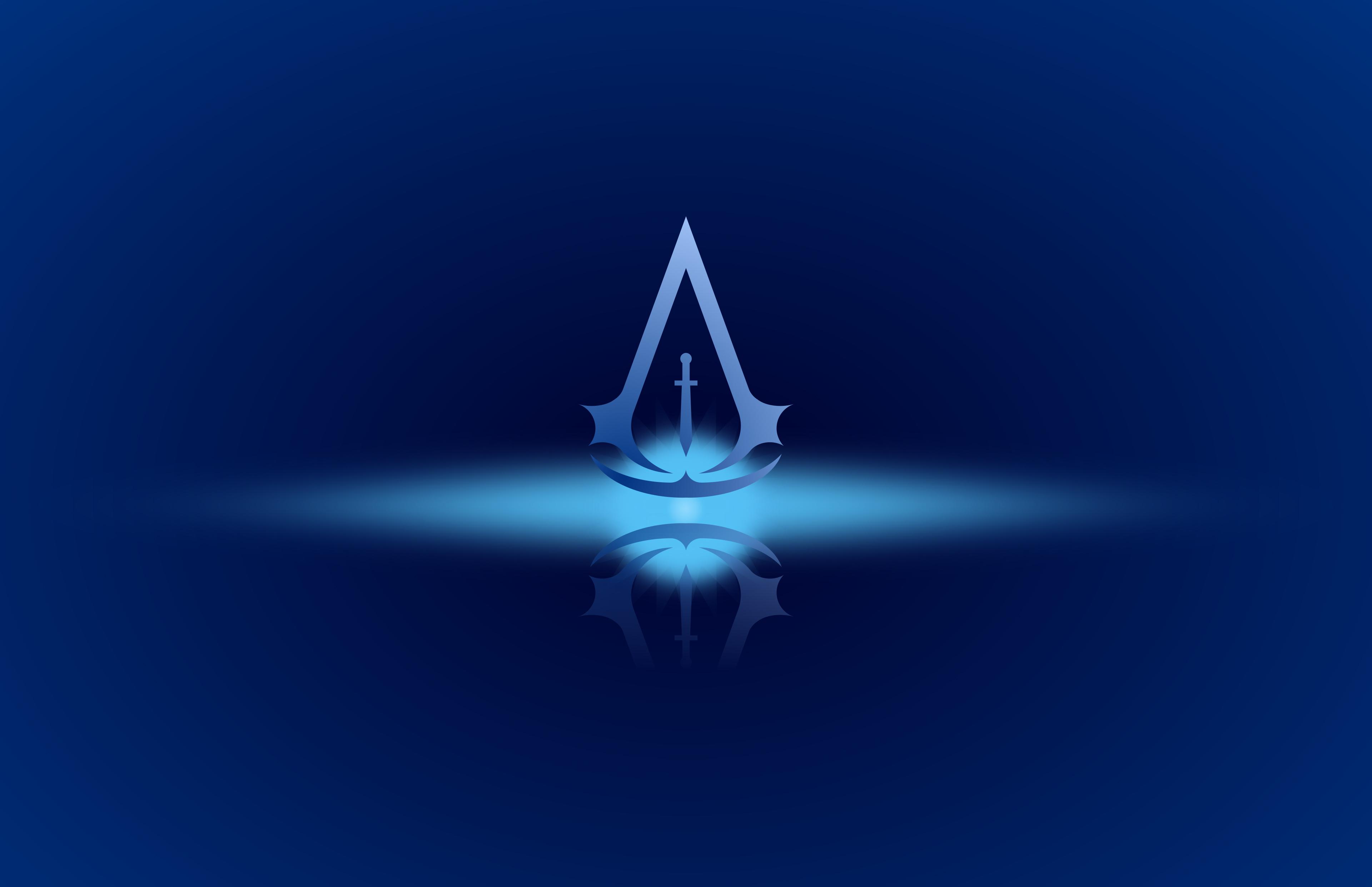 Assassins Creed 4k Minimal Logo Hd Games 4k Wallpapers Images