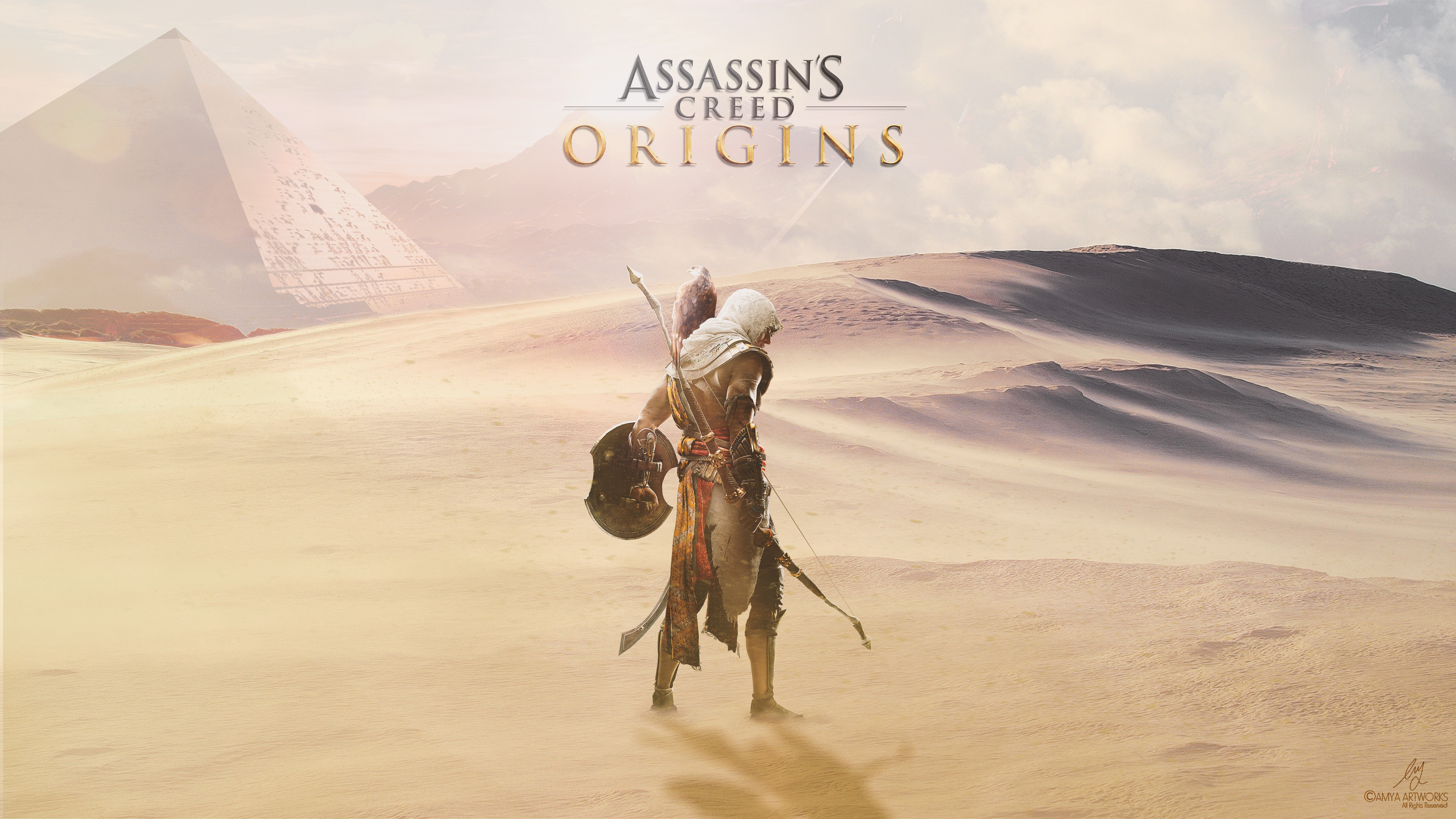 Assassins Creed Origins Artwork 4k Hd Games 4k Wallpapers Images Backgrounds Photos And Pictures