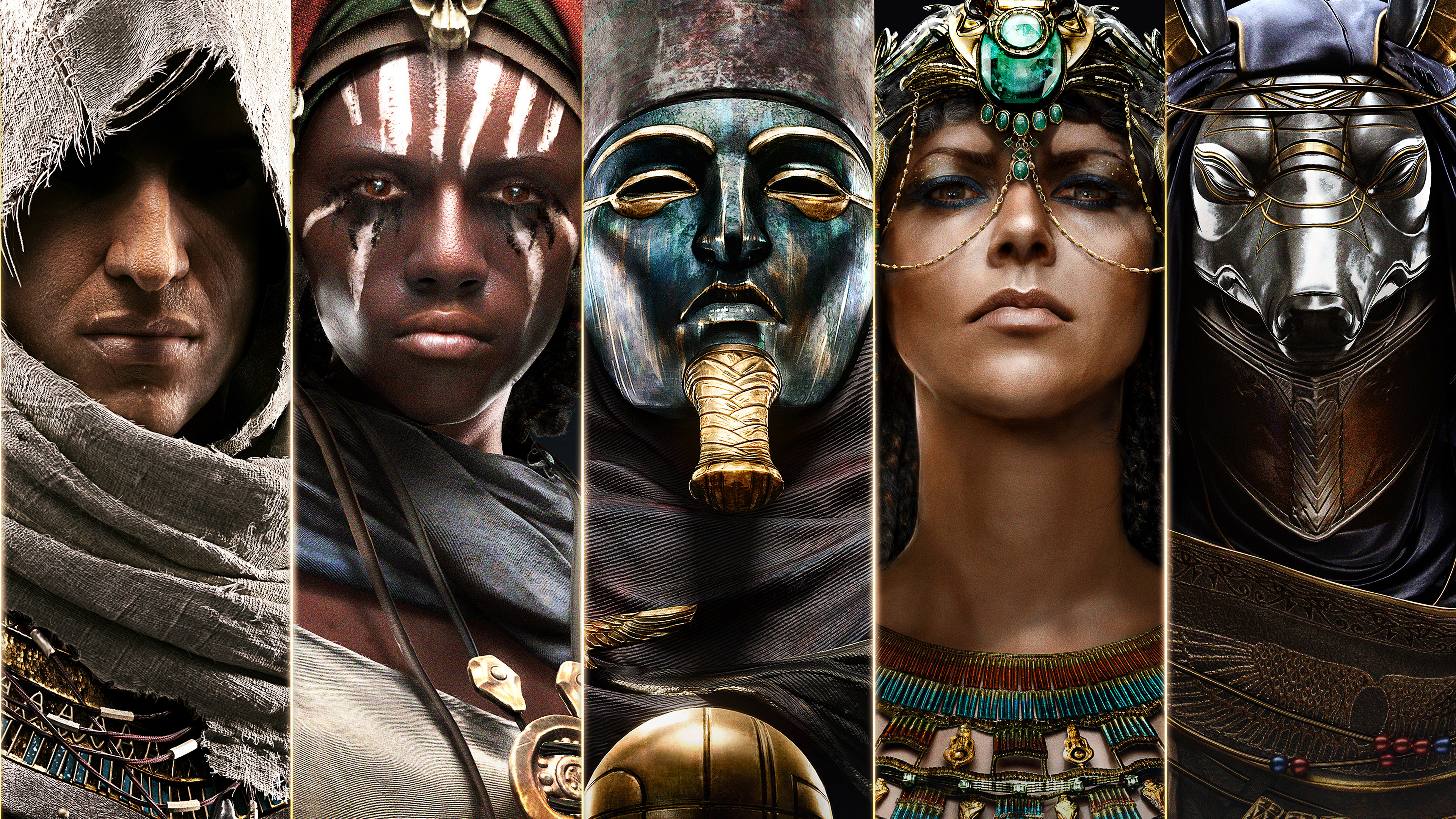 1920x1080 Assassins Creed Origins Characters 4k Laptop Full Hd 1080p Hd 4k Wallpapers Images Backgrounds Photos And Pictures