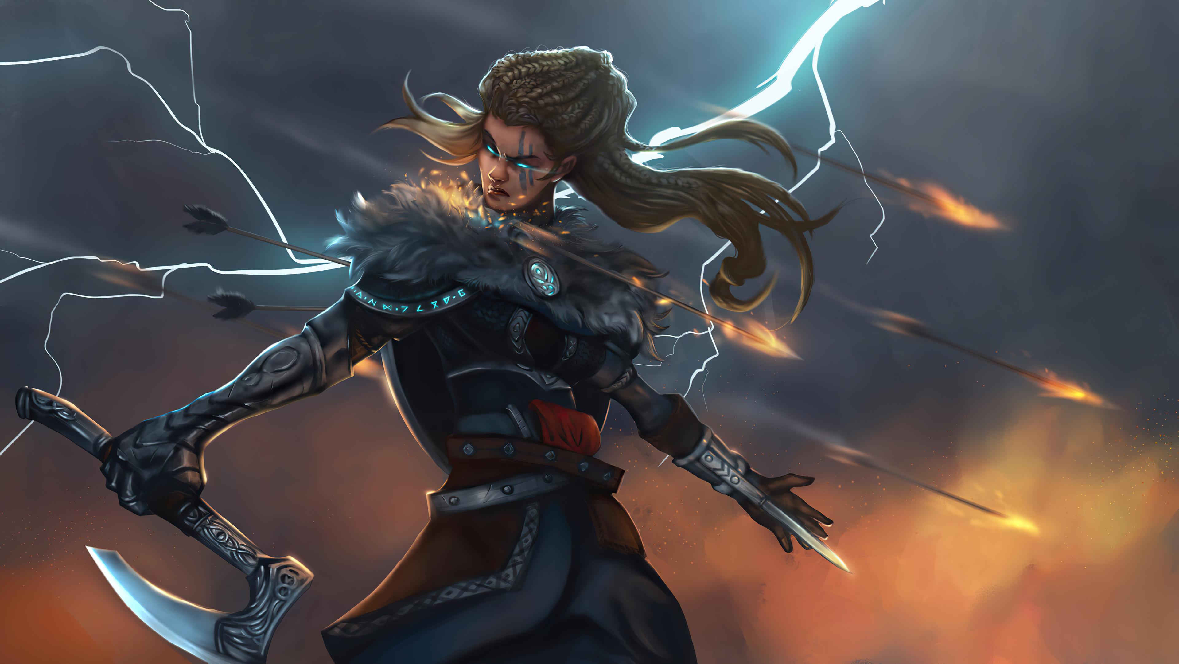 assassins creed valhalla female main character