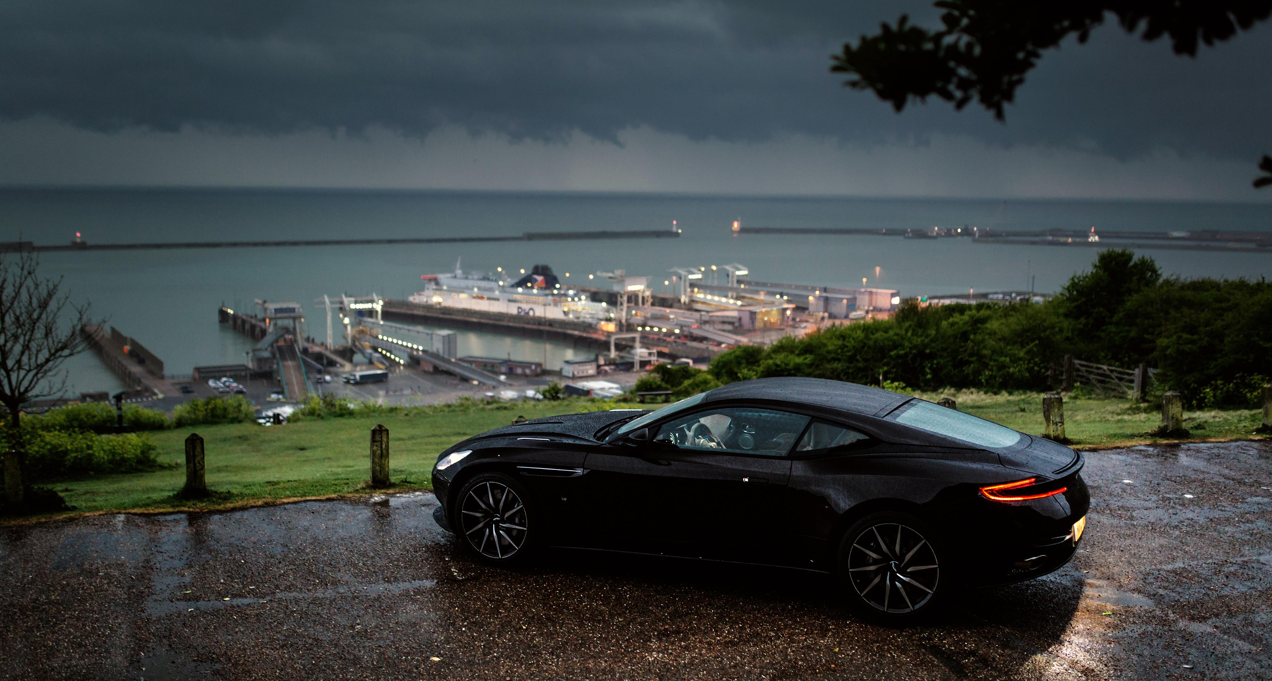Aston Martin Db11 Rain Outside In Nature Hd Cars 4k