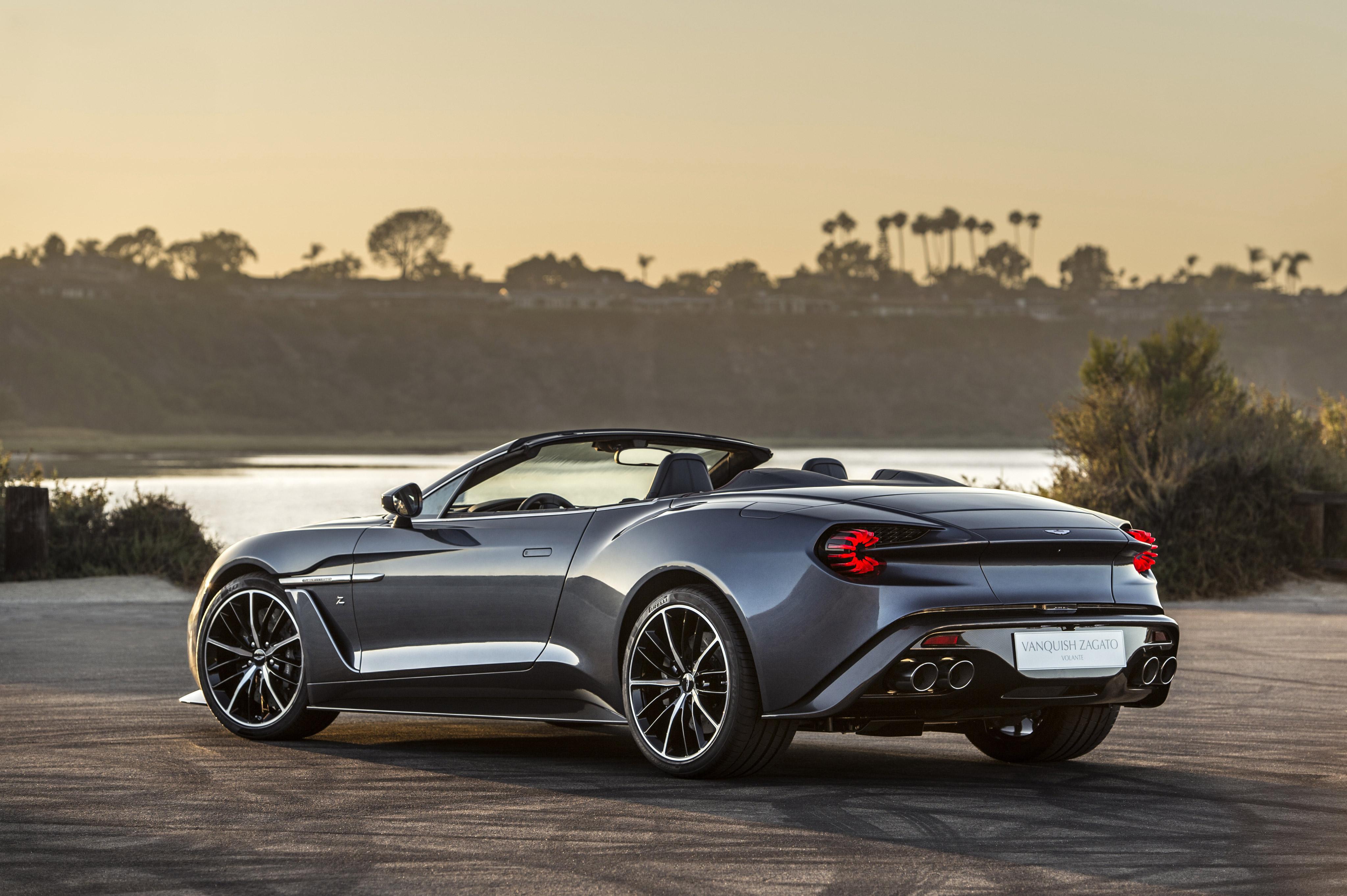 Aston Martin Vanquish Zagato 4k Hd Cars 4k Wallpapers