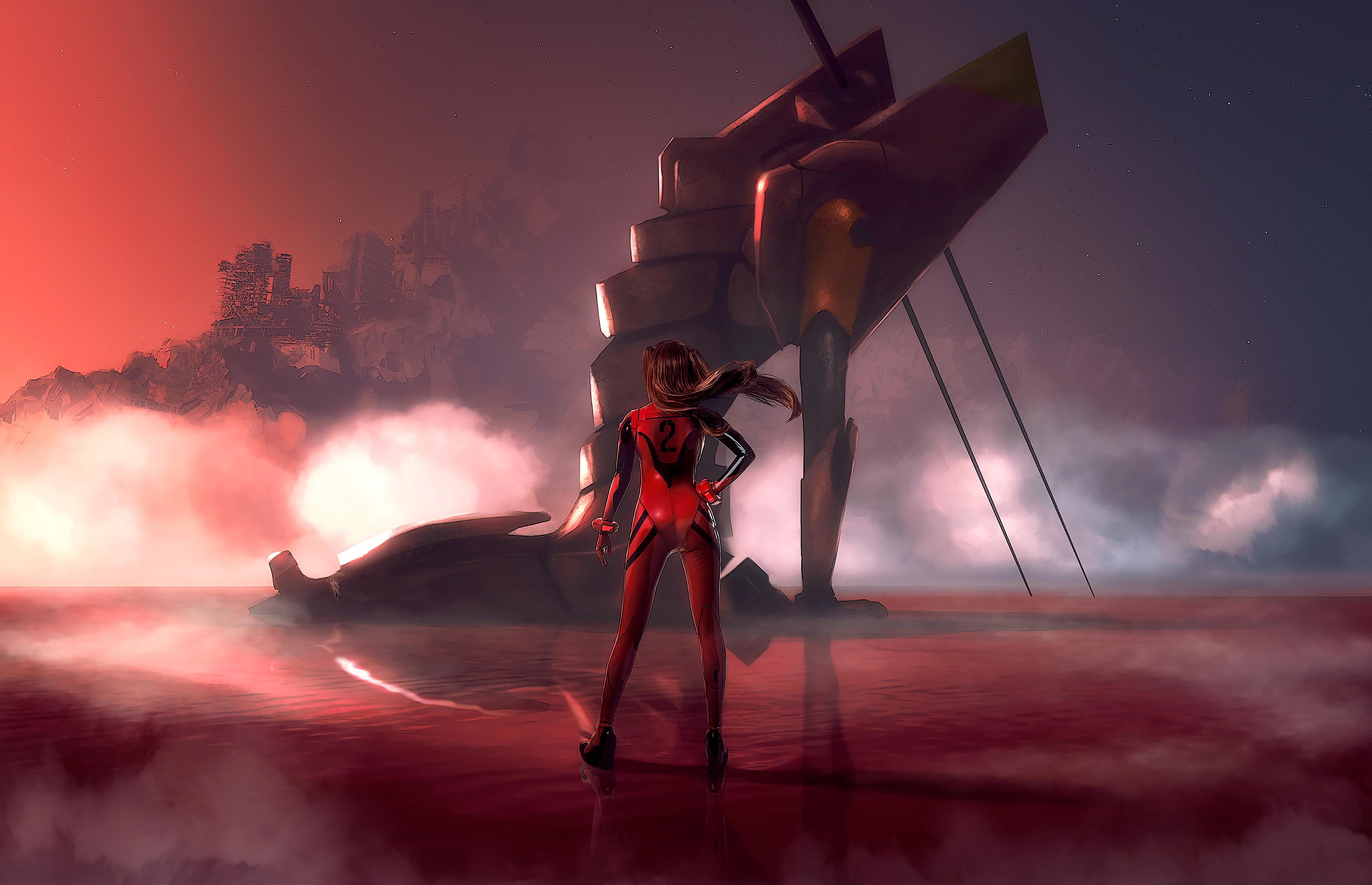 Asuka Neon Genesis 2020, HD Anime, 4k Wallpapers, Images ...