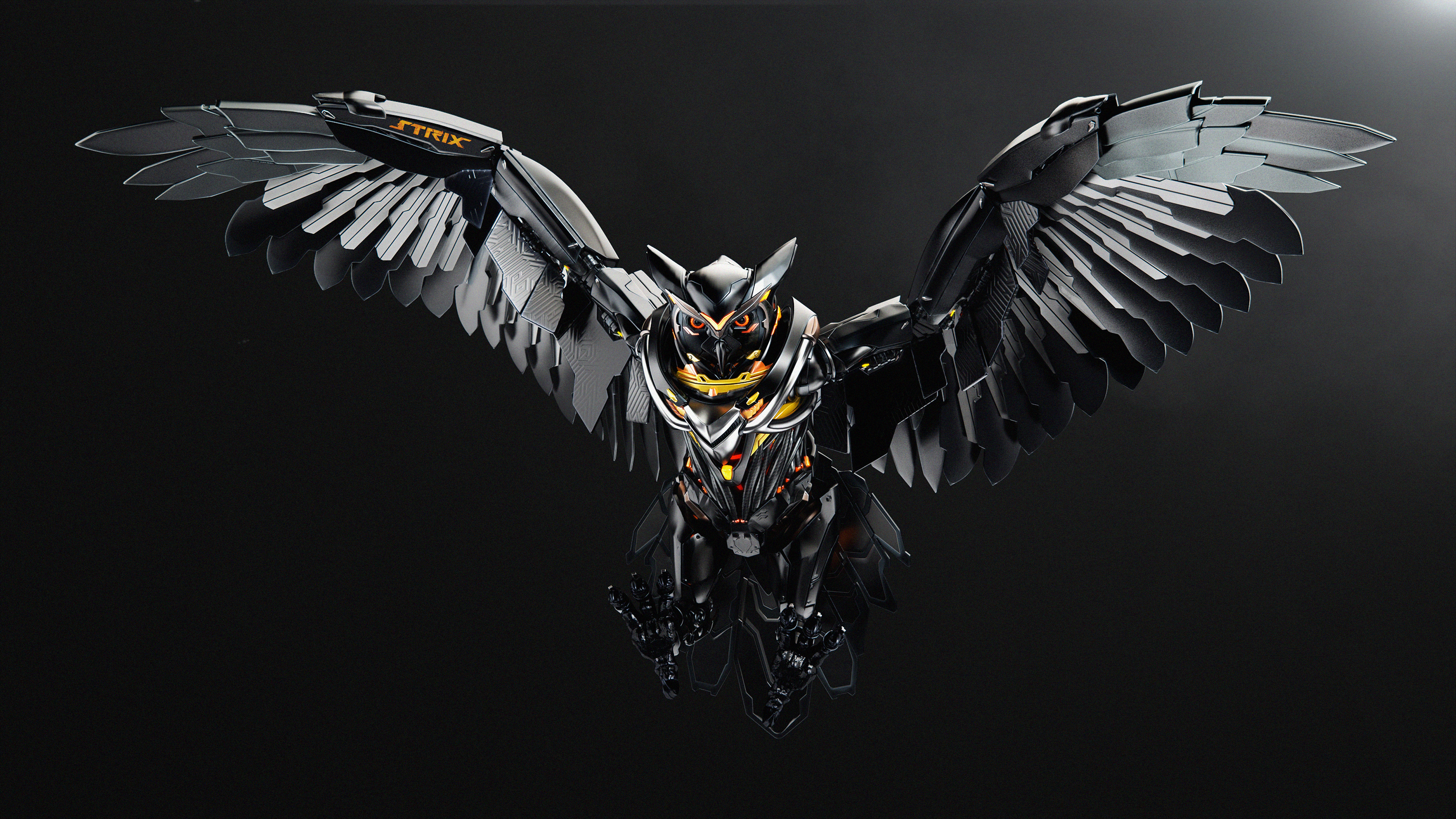 Asus Rog Strix Owl 4k Hd Computer 4k Wallpapers Images Backgrounds Photos And Pictures