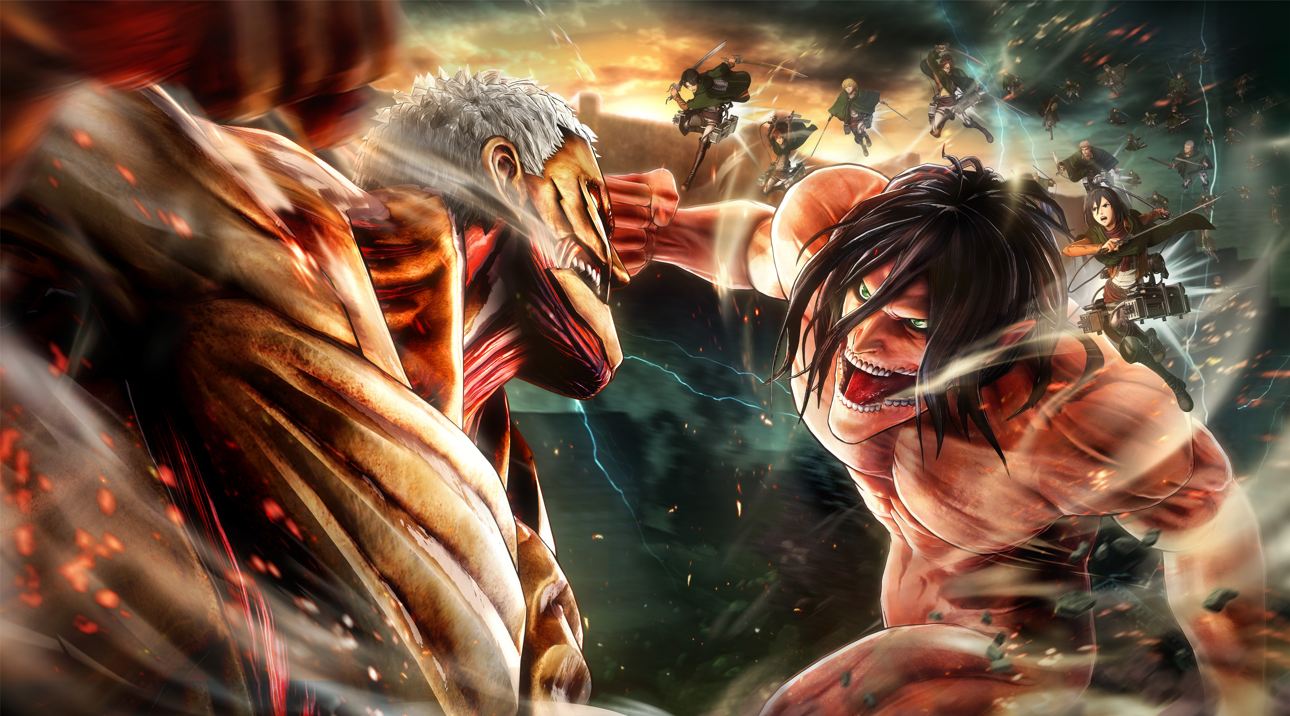 Attack On Titan 2 Hd Games 4k Wallpapers Images Backgrounds Photos And Pictures